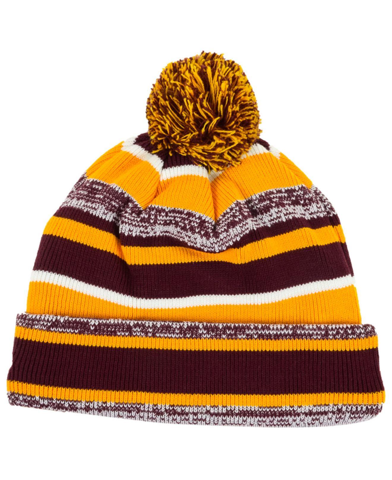 99a6f669ef299c ... buy lyst ktz minnesota golden gophers sport knit hat in purple for men  7785c bf560