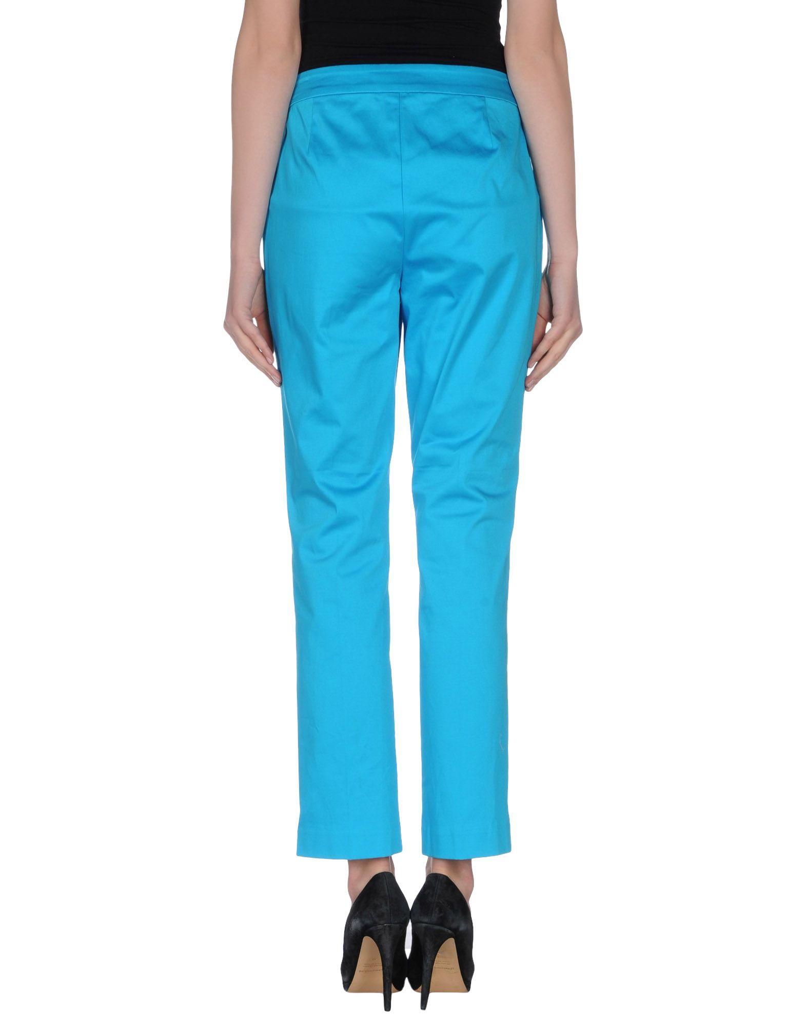 Original Ralph Lauren Collection Womens Flared Gabardine Pants In Black  Lyst