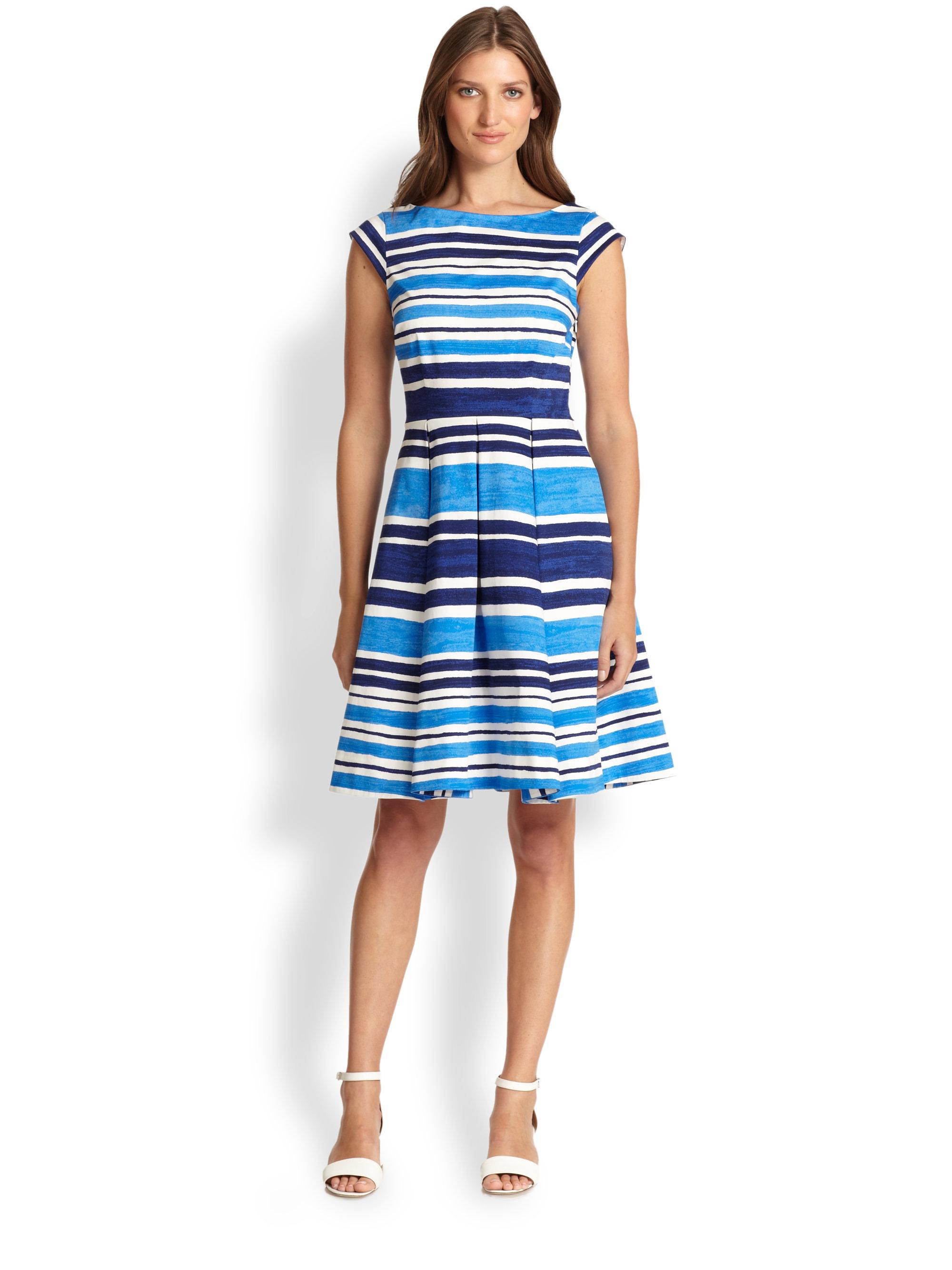 Lyst Kate Spade New York Mariella Dress In Blue