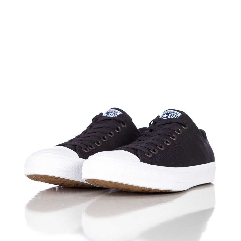 e0802d9aa2a0 Lyst - Converse Chuck Taylor All Star Ii Ox Low In Black white for Men