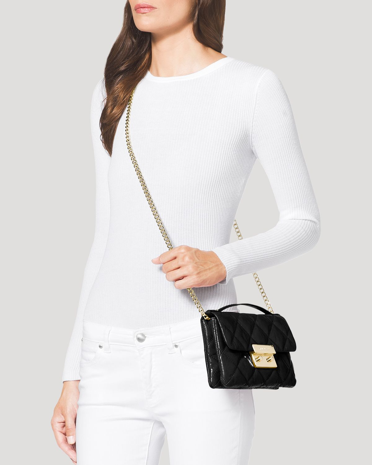 Michael Michael Kors Crossbody Sloan Small Quilted