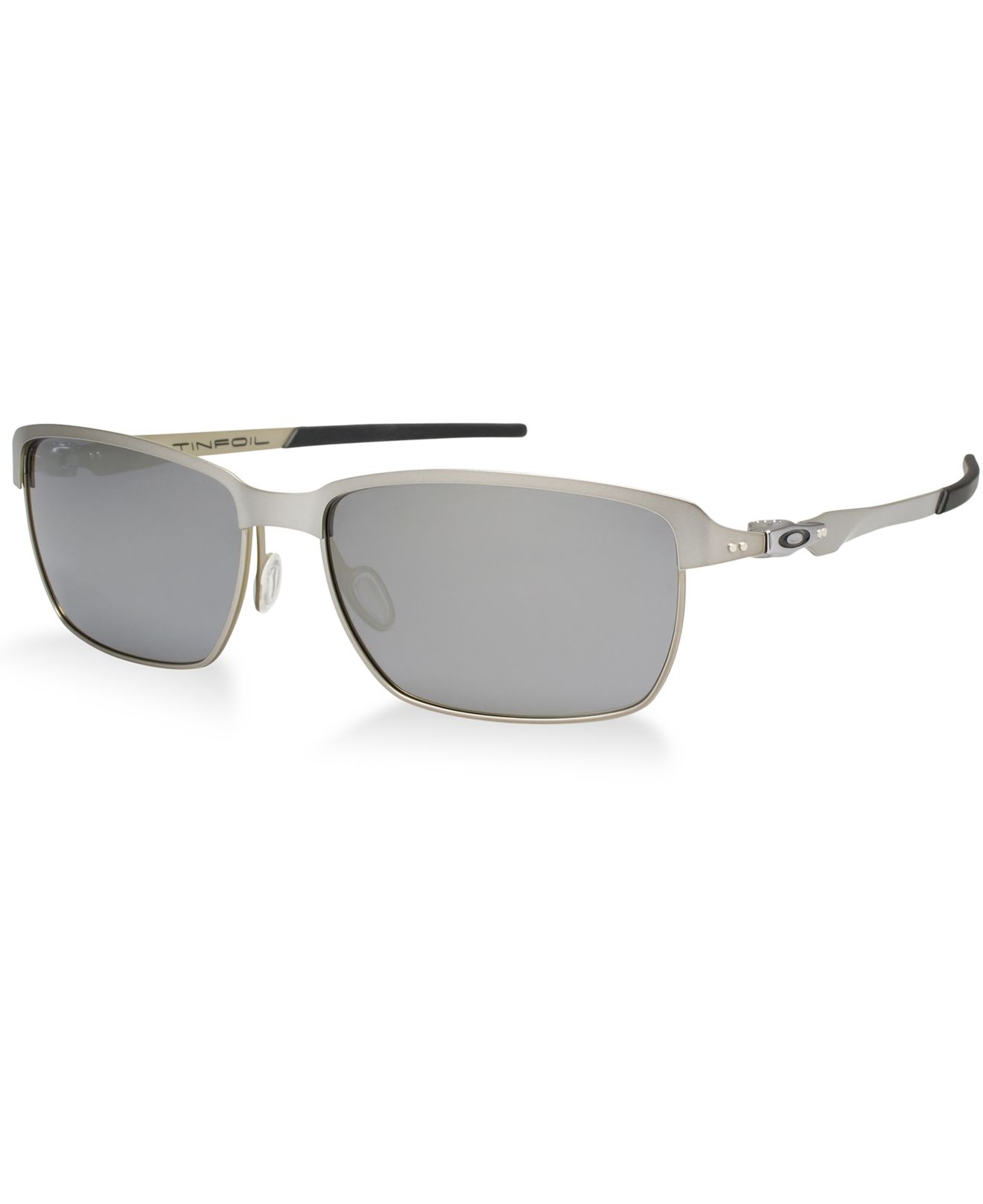 4f58fc4d0383f ... discount code for lyst oakley oo4083 tinfoil in metallic for men e4aab  79fea