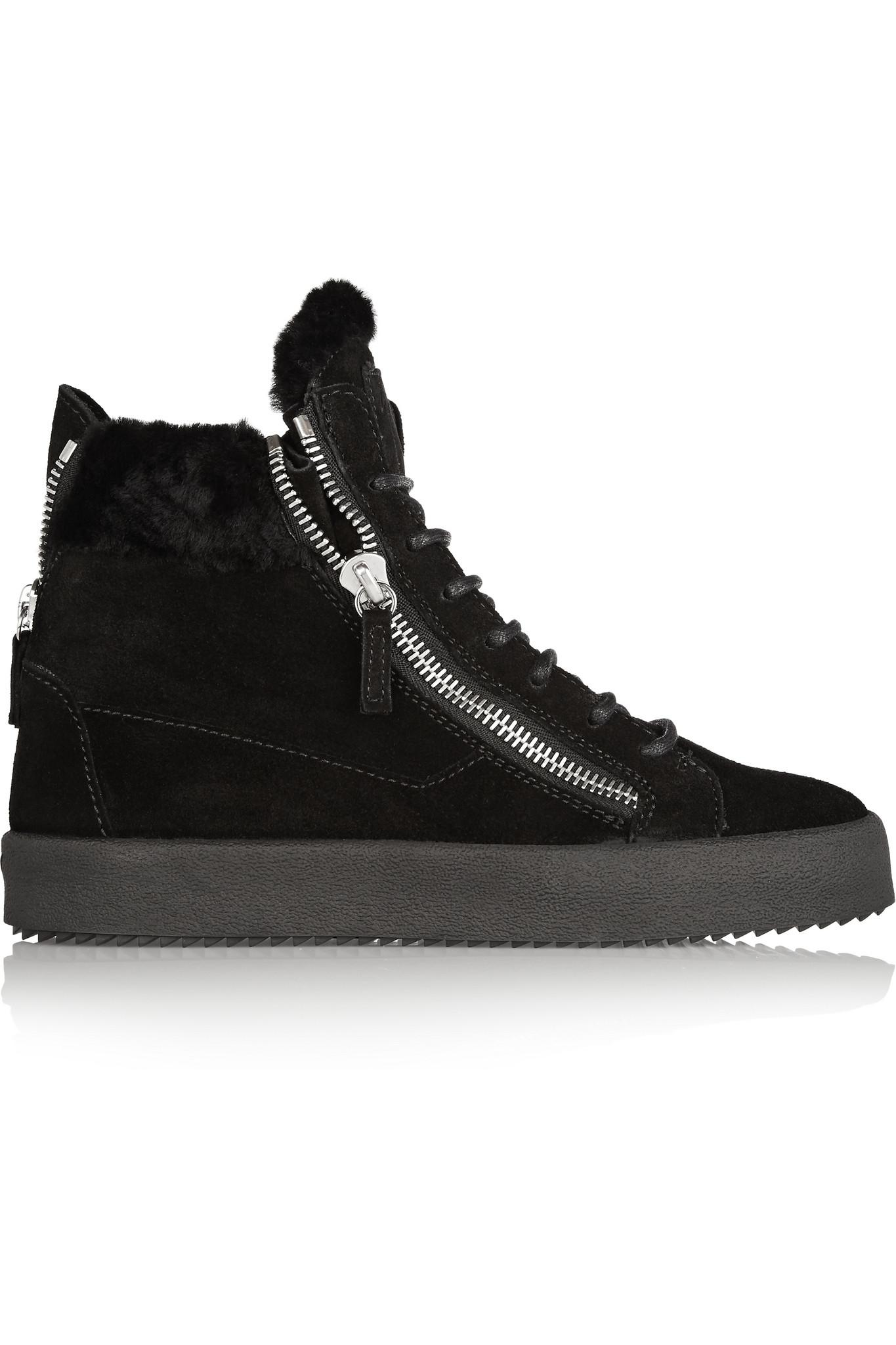 Giuseppe Zanotti Black May London High-Top Sneakers 6U7wEDztFY