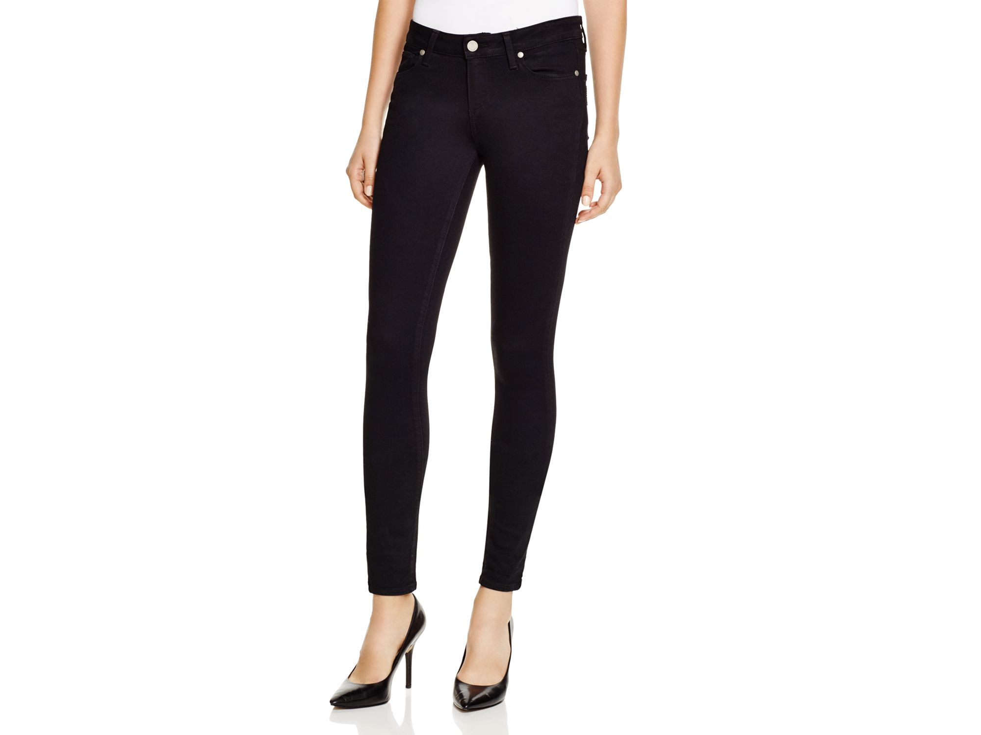 Extra Long Black Skinny Jeans - Jeans Am