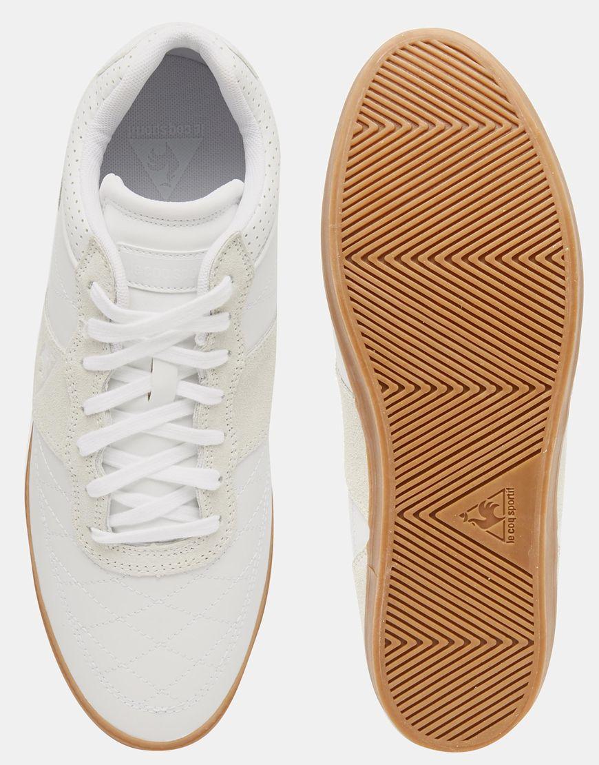 Le Coq Sportif Troca Sneakers - White in Gray - Lyst 825c60504
