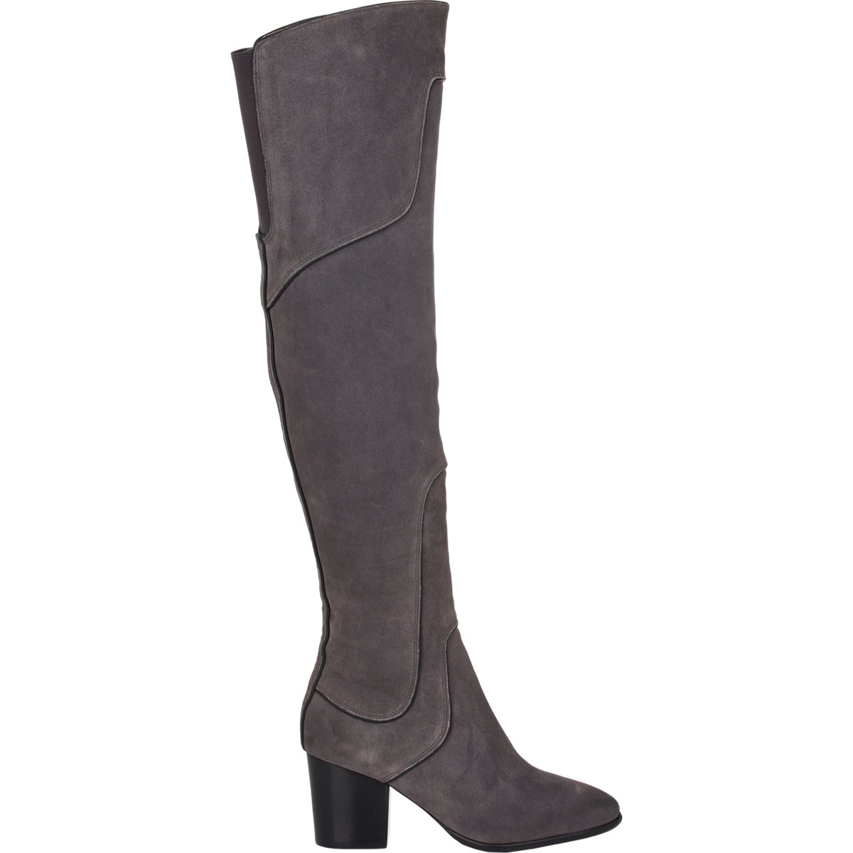 34e33b9dc2e Lyst - Rebecca Minkoff Blessing Over-The-Knee Boots in Gray