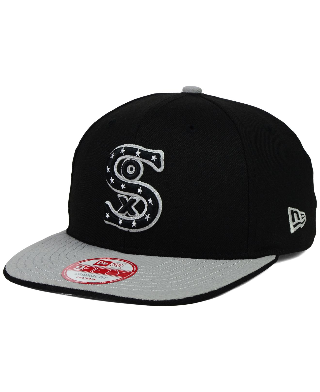 4b1af80ae444a0 ... get lyst ktz chicago white sox under snapper 9fifty snapback cap in  31608 8cb4b
