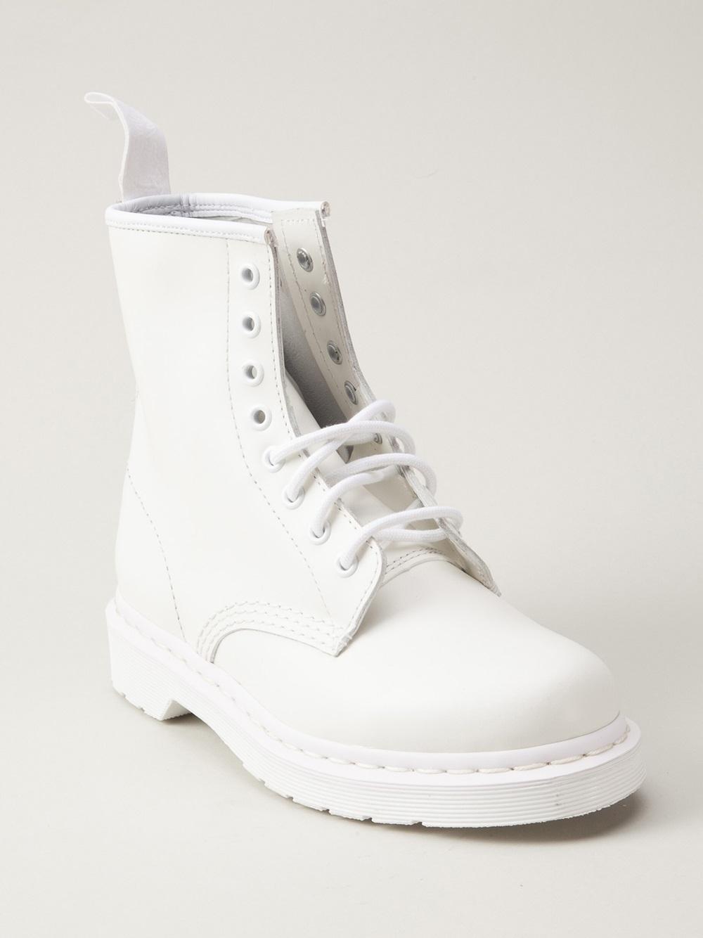 Lyst - Dr. Martens Mono 8eye Boot in White