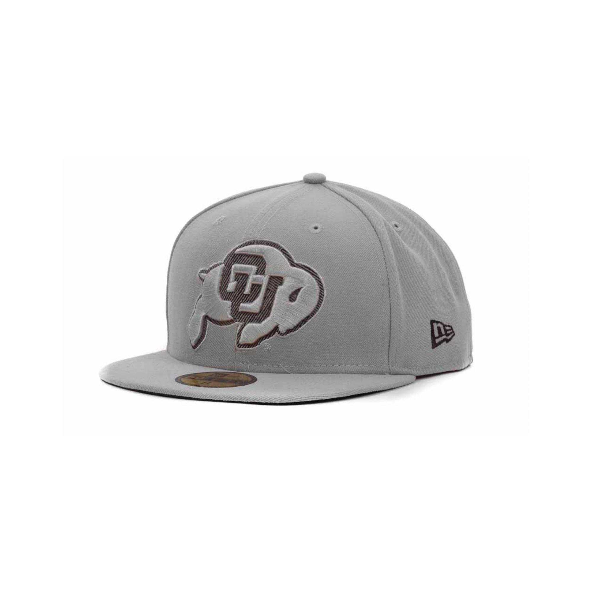 6dff8e46614 ... inexpensive lyst ktz colorado buffaloes high risk 59fifty cap in gray  for men 0806a f6b7d