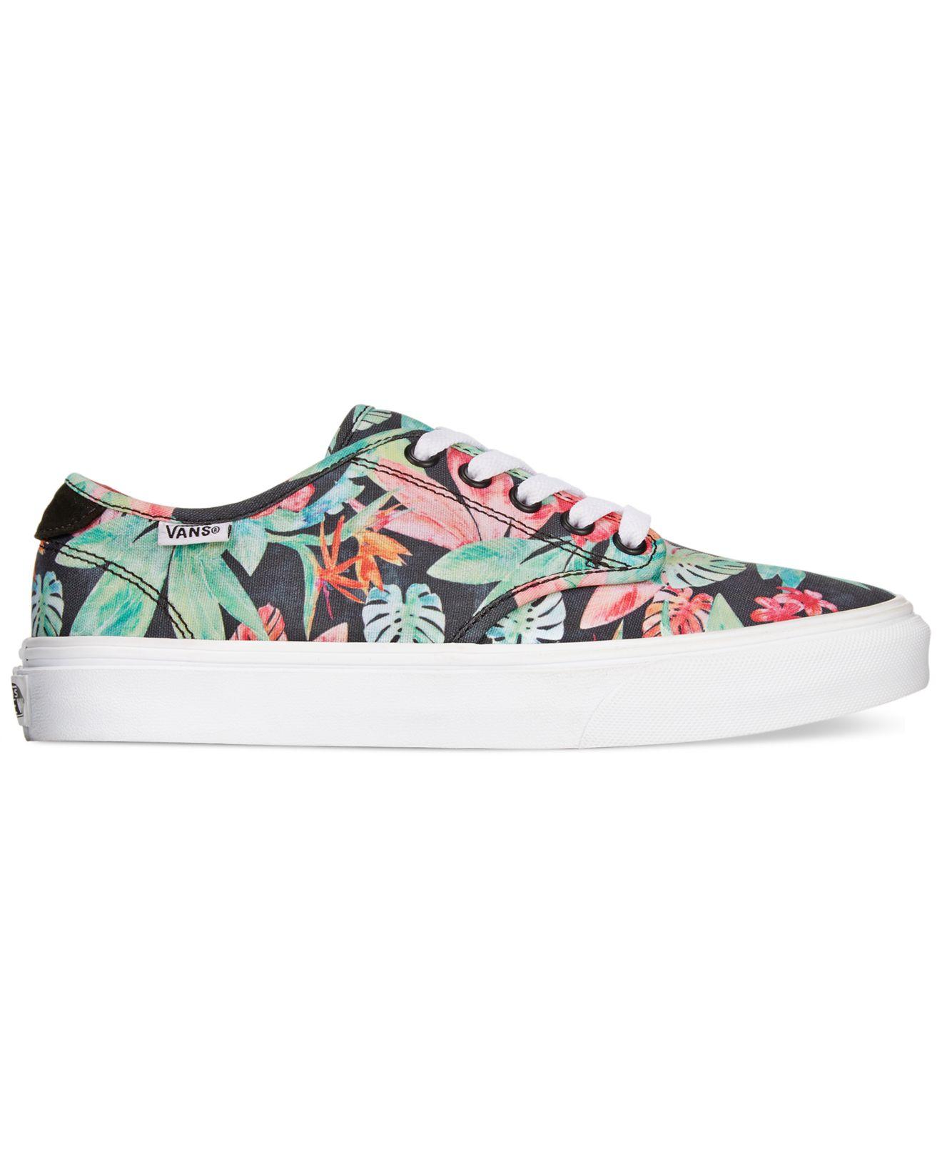 Vans Women S Camden Lace Up Sneakers Lyst