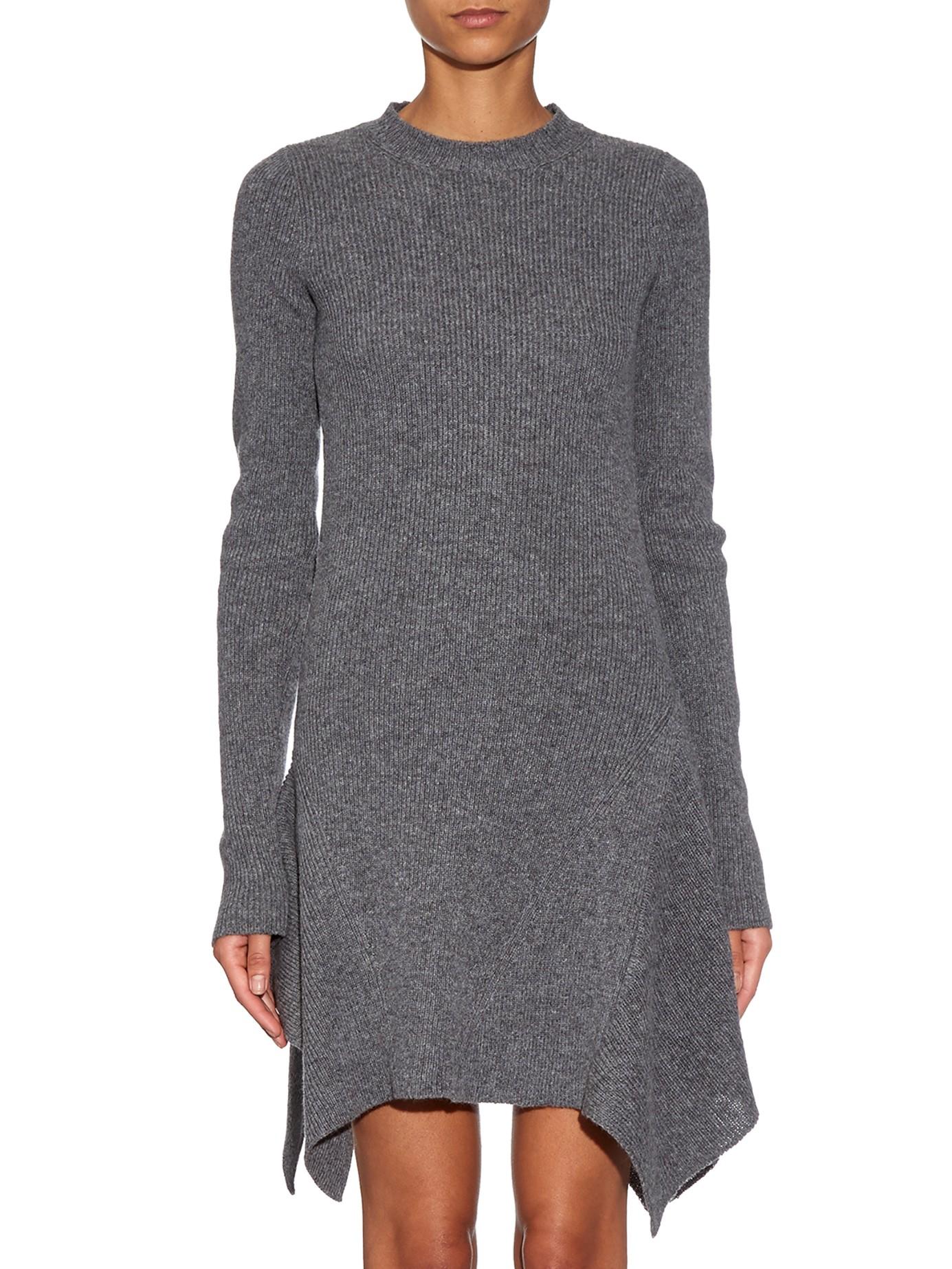 asymmetric knit dress - Grey Stella McCartney Discount 2018 Official Site Cheap Online OtWUIi