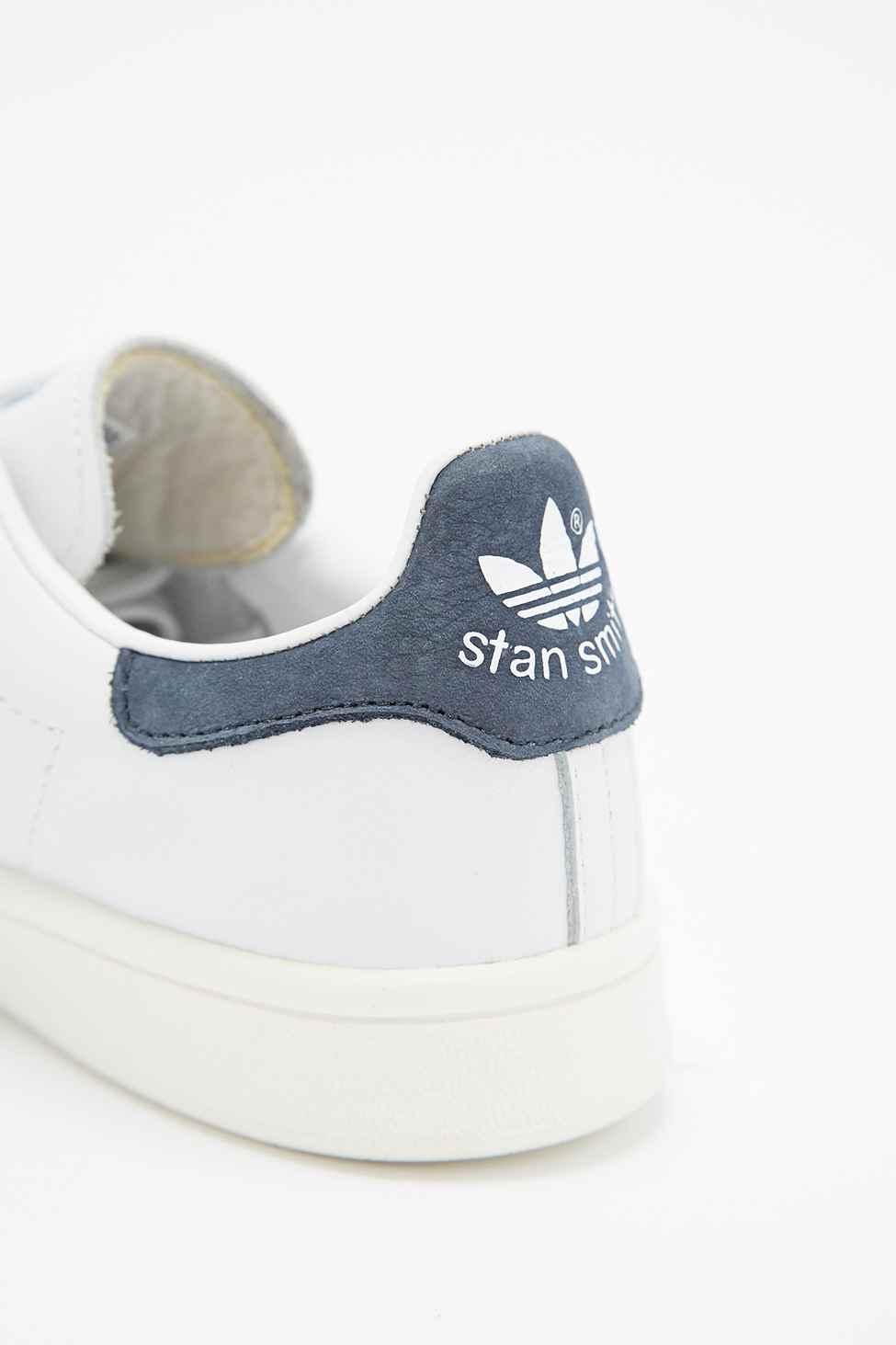 oktxg Adidas Stan Smith White And Indigo economicplumbing.co.uk