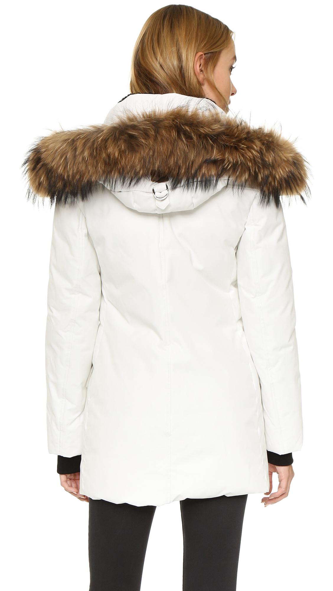 Mackage Juliann Down Jacket in White | Lyst