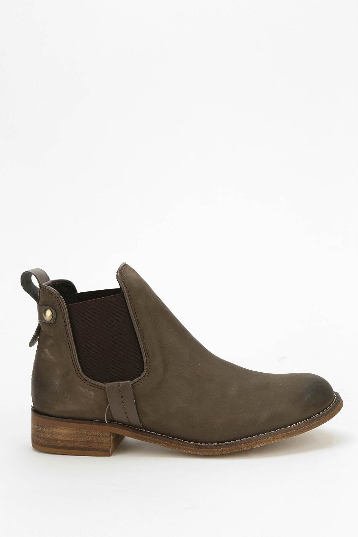 84978d6dd8e Lyst - Steve Madden Gilte Ankle Boot in Brown