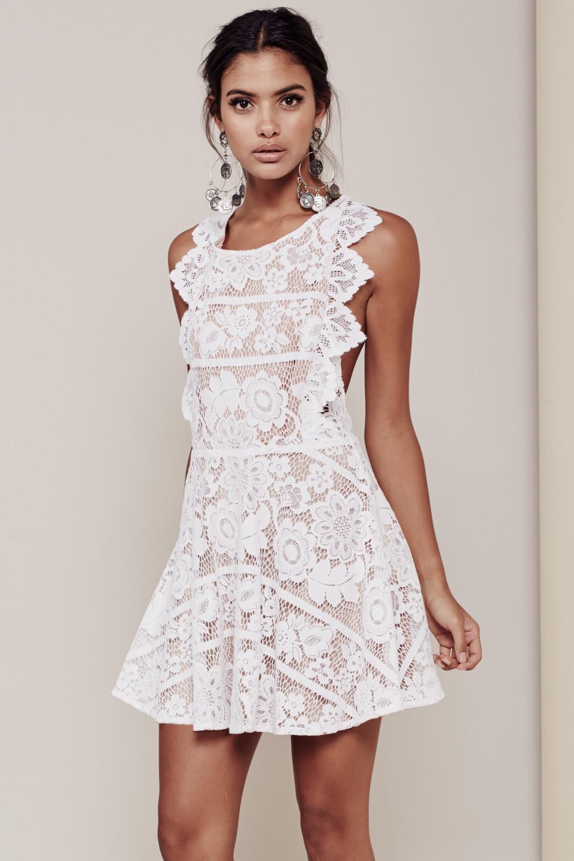 White apron dress - Gallery