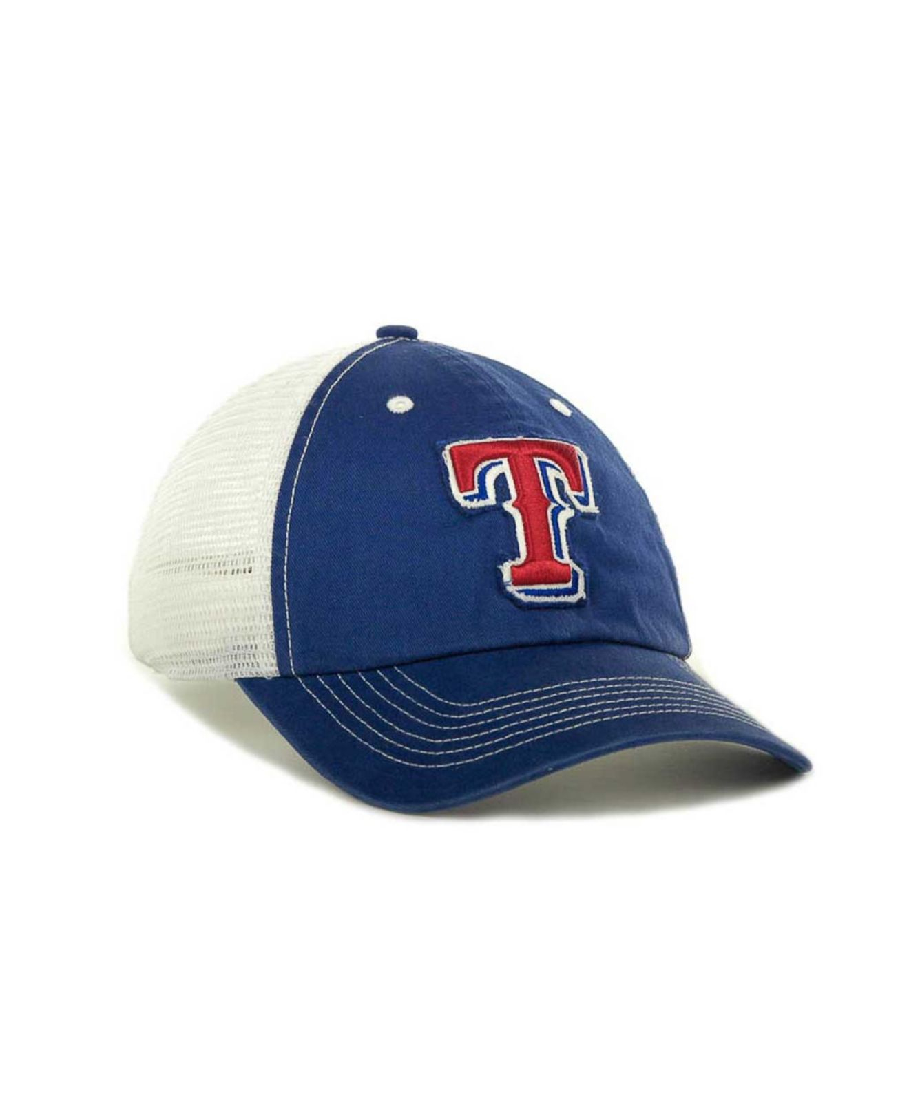 size 40 1c856 879ee ... where to buy hat royal lyst 47 brand texas rangers mlb blue mountain  franchise cap in ...