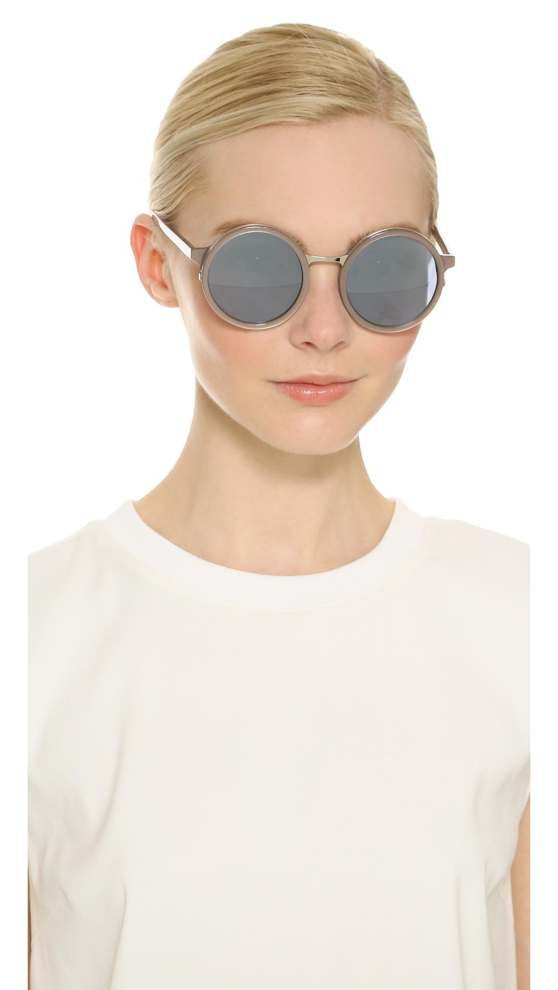 Yetti round sunglasses - Metallic Sunday Somewhere EFZXe0L