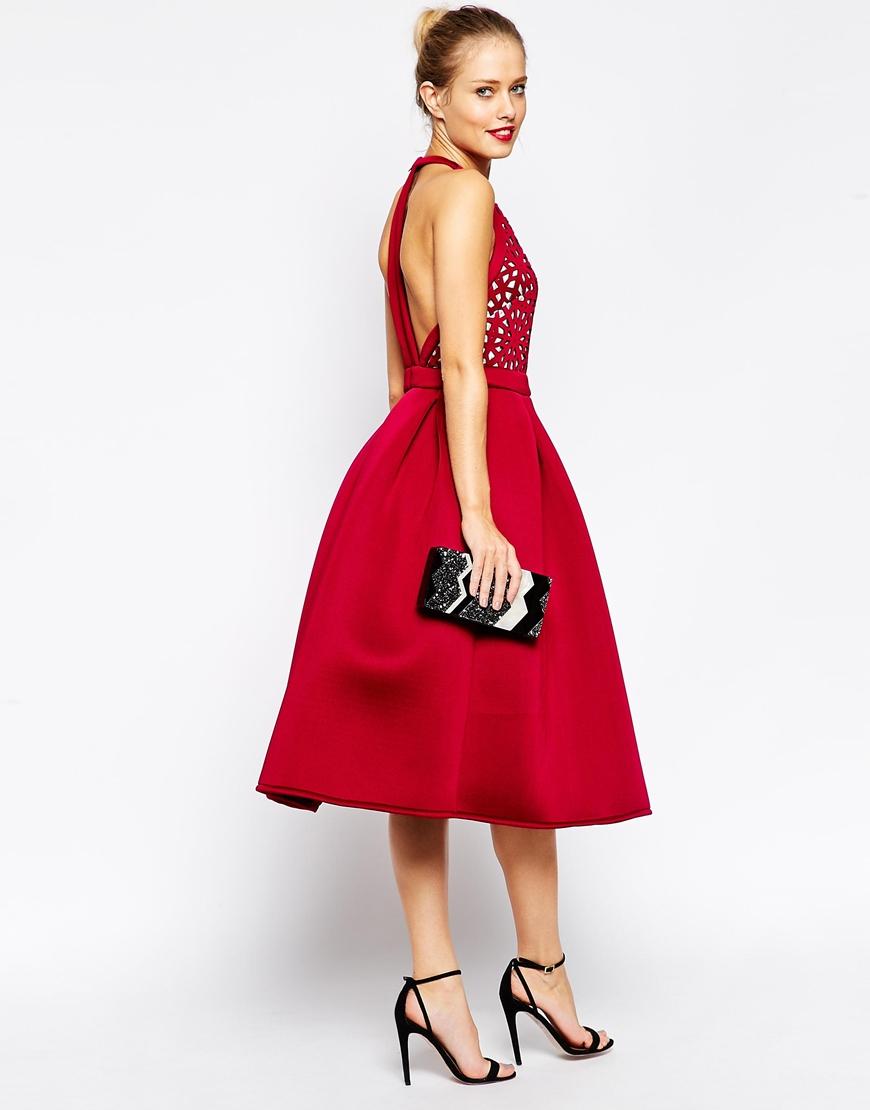 Plus Size Midi Dress - Three Quarter Sleeves / Black / Teal