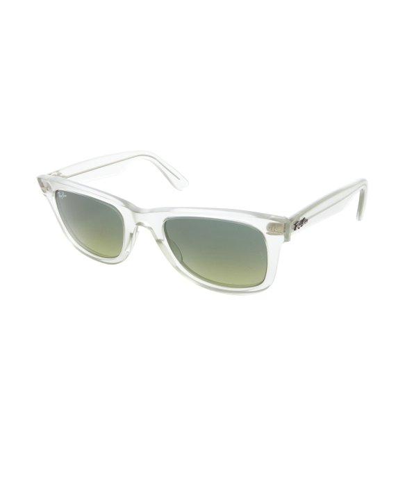 5fc11de6a5 ... where to buy lyst ray ban demi gloss green original wayfarer ice pop  14ea2 64f45