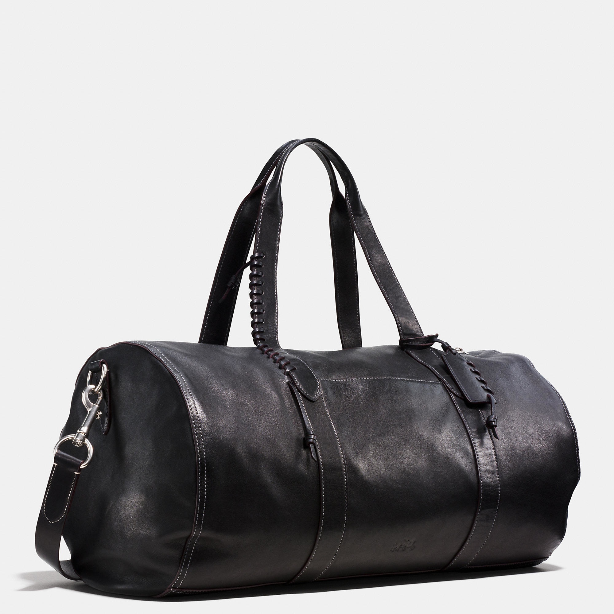Coach Rip And Repair Large Gym Bag In Sport Calf Leather