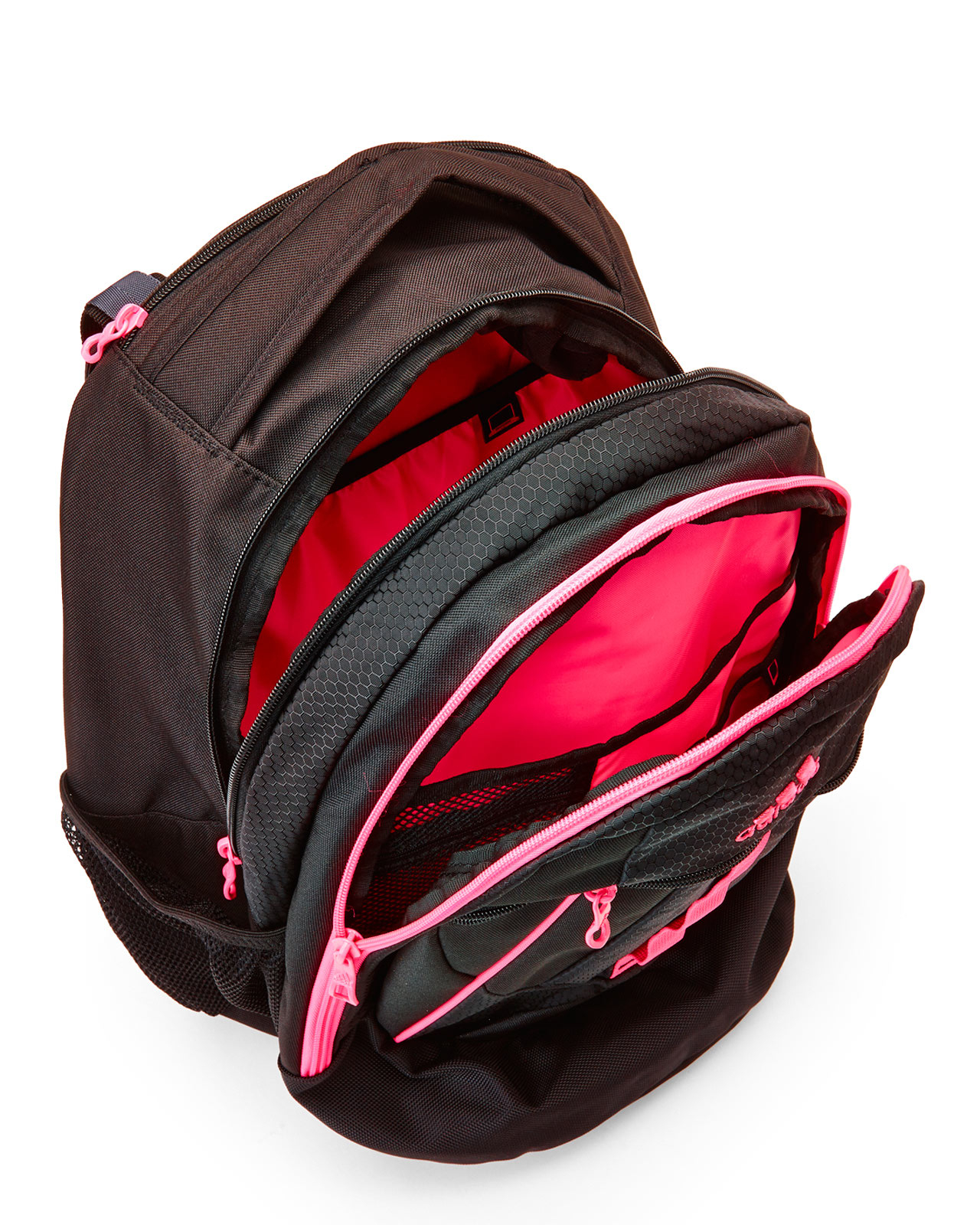 67bbd458c92d Lyst - adidas Black   Pink Hickory Backpack in Black
