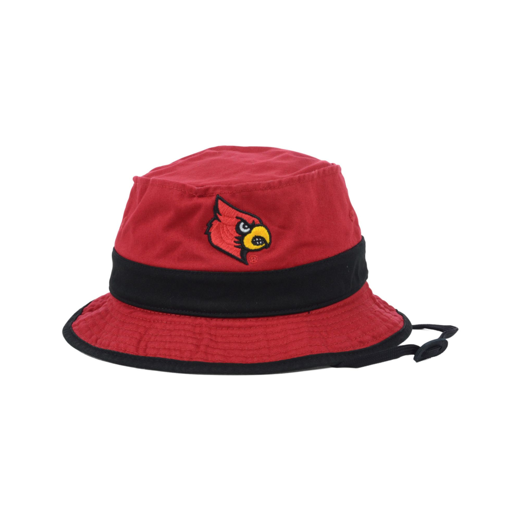 Lyst - adidas Louisville Cardinals Cord Bucket Hat in Red for Men 8449eea60