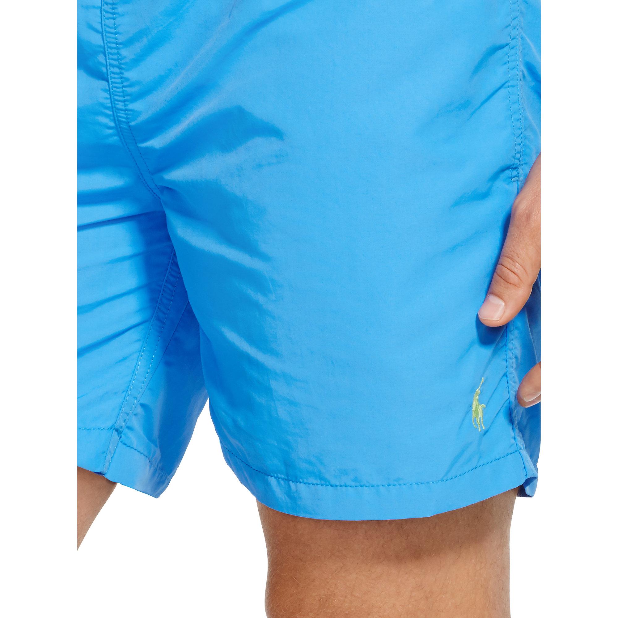 36dd1d98ed Polo Ralph Lauren 5¾-inch Hawaiian Swim Trunk in Blue for Men - Lyst