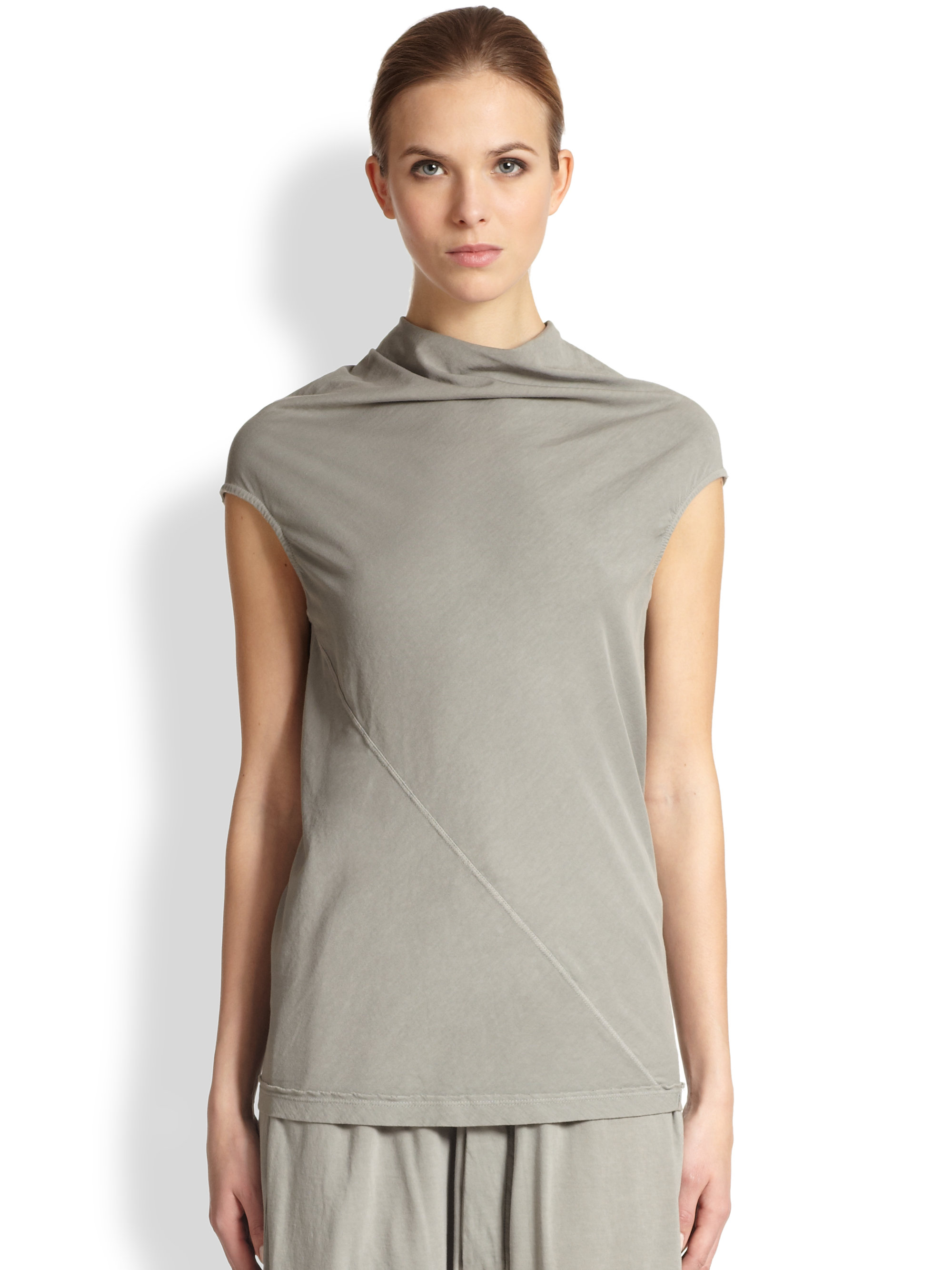 Discount Pay With Visa Buy Cheap Great Deals Bonnie top - Metallic Rick Owens Genuine Sale Online How Much For Sale Brand New Unisex Sale Online dXvUWeNZ