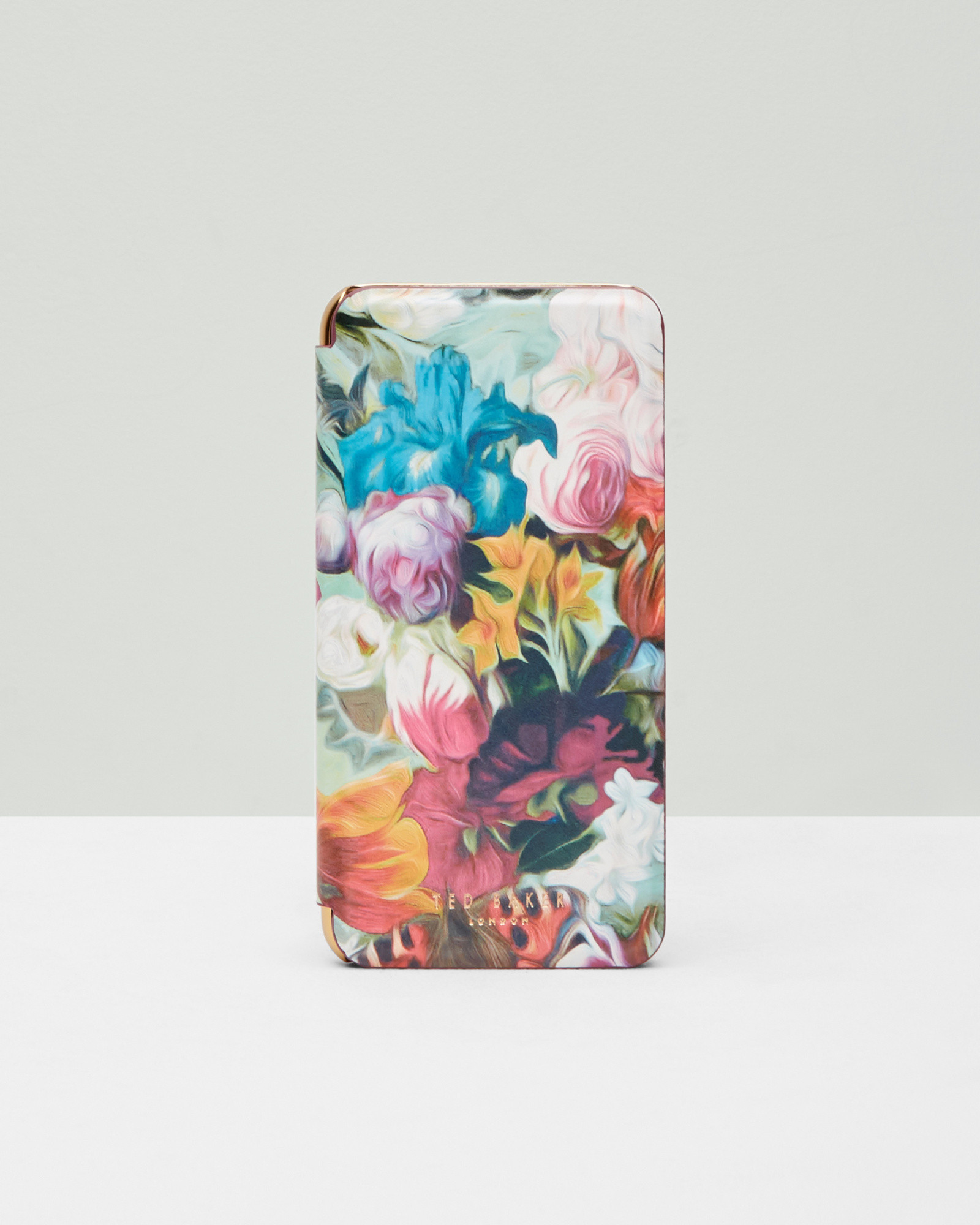 782938d263ea7 Lyst - Ted Baker Floral Swirl Iphone 6 Plus Case