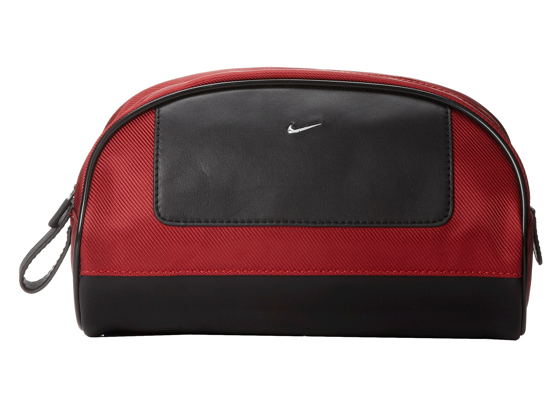 762a8628ff Lyst - Nike Leather tech Twill Travel Kit in Red for Men