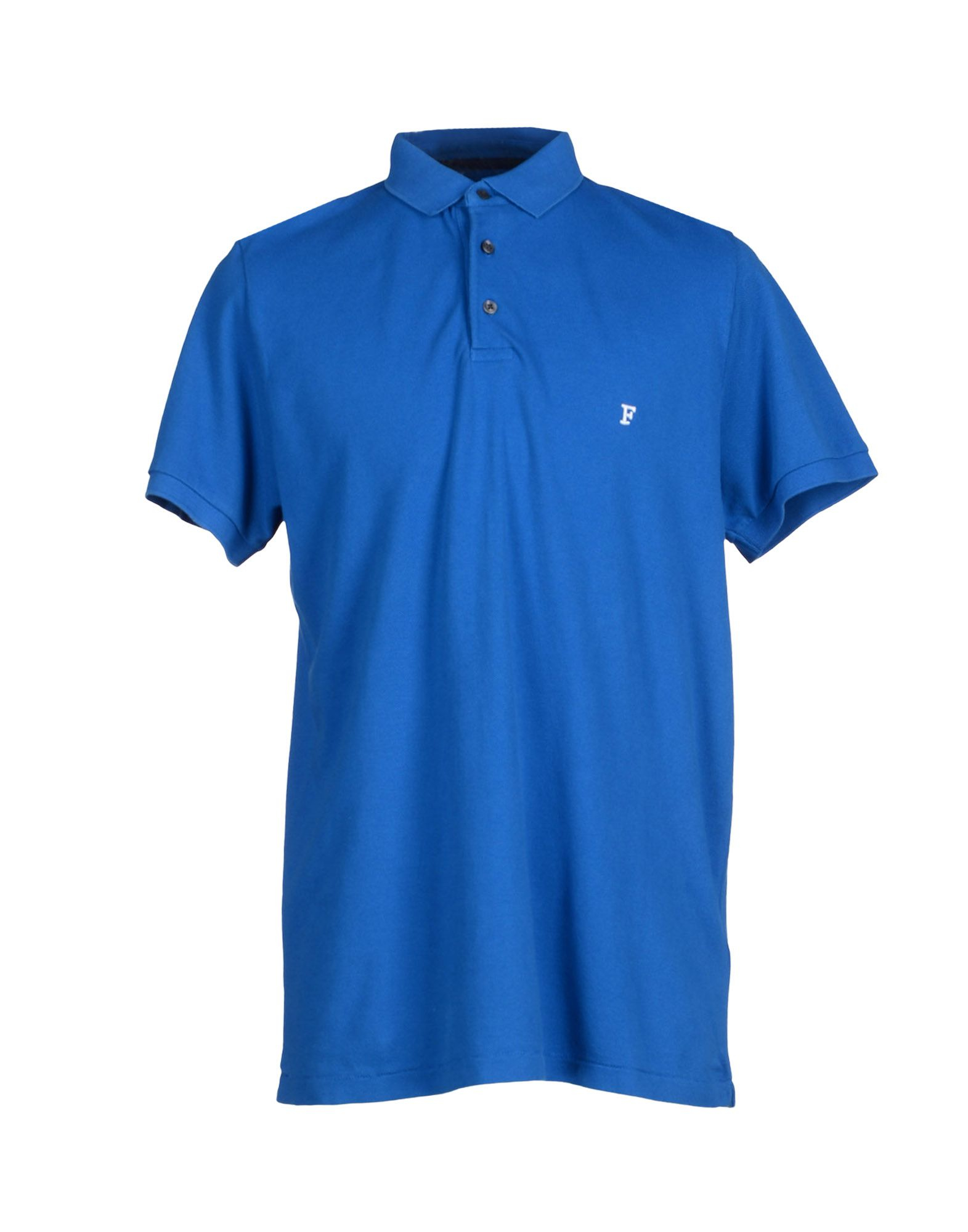 french connection polo shirt in blue for men lyst