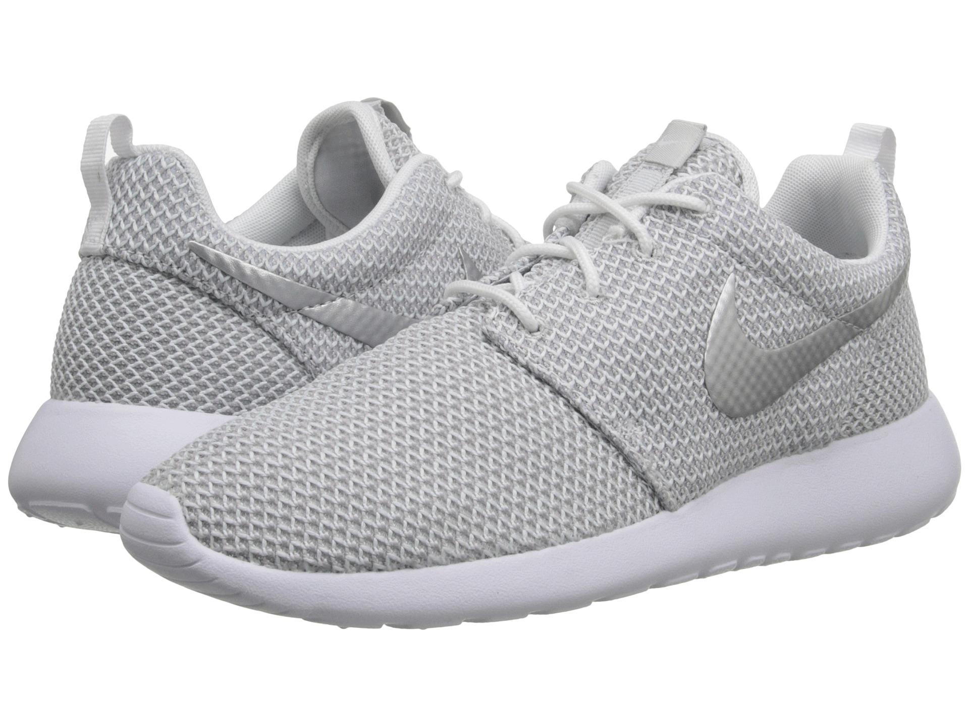 Lyst - Nike Roshe Run in Gray