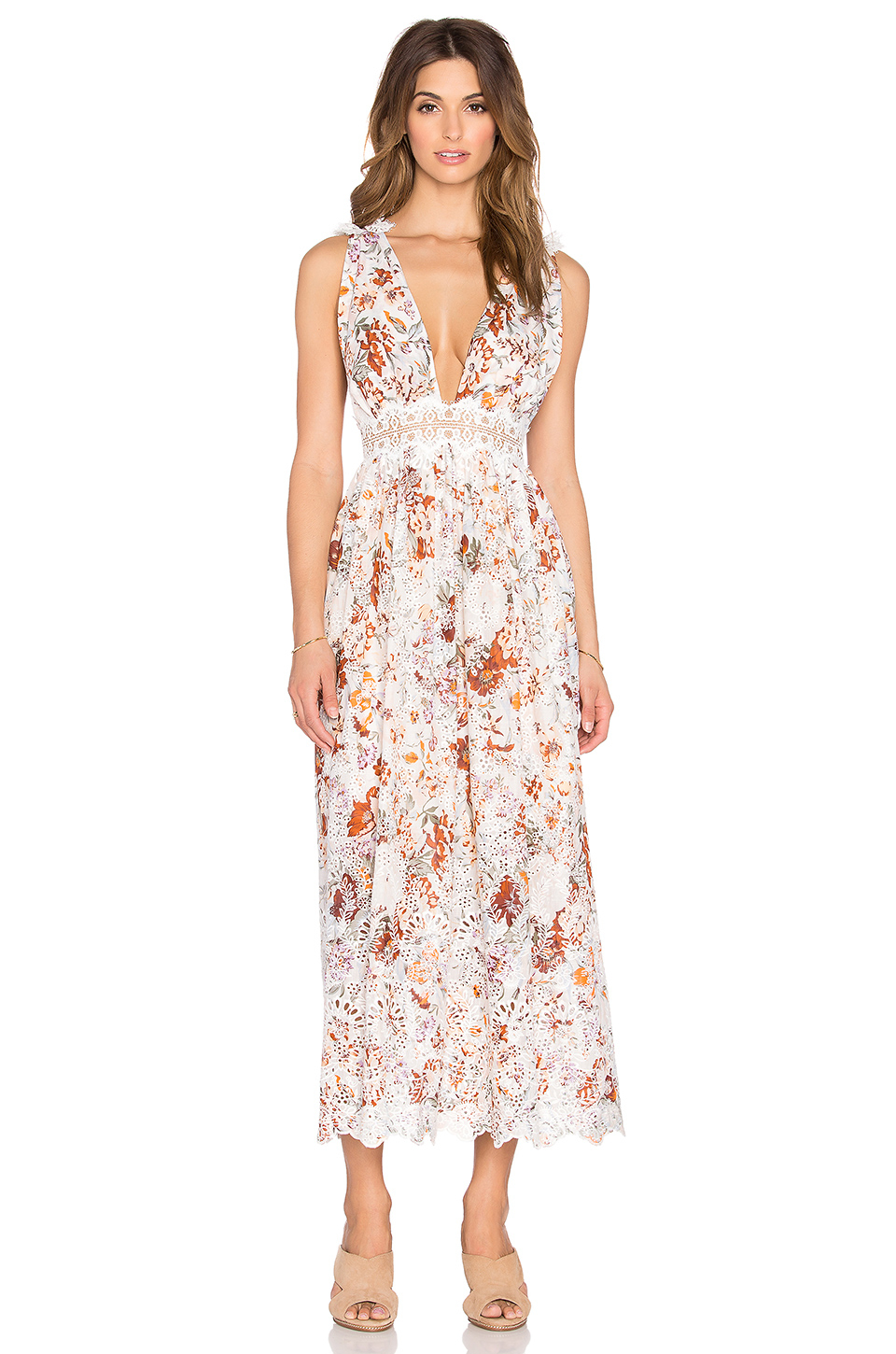 Lyst Zimmermann Alchemy Flutter Back Dress