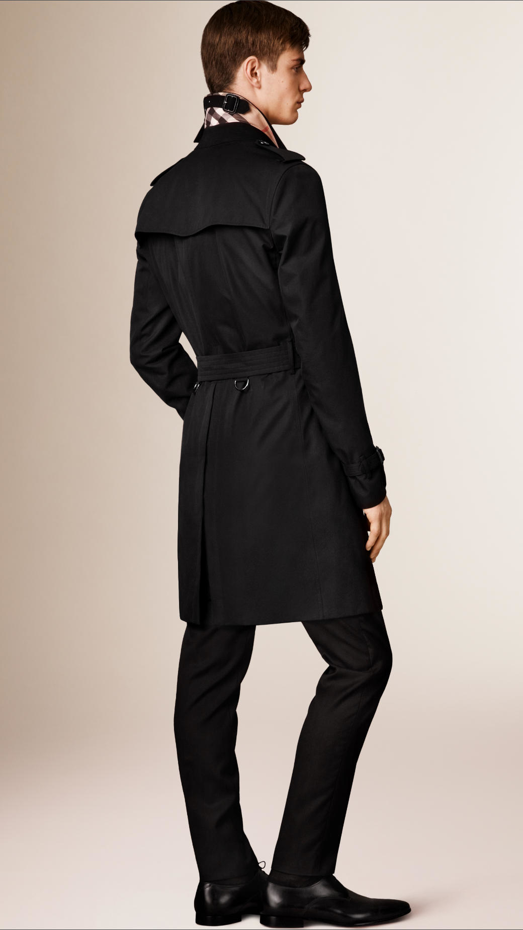 Burberry The Kensington - Long Heritage Trench Coat in Black for ...