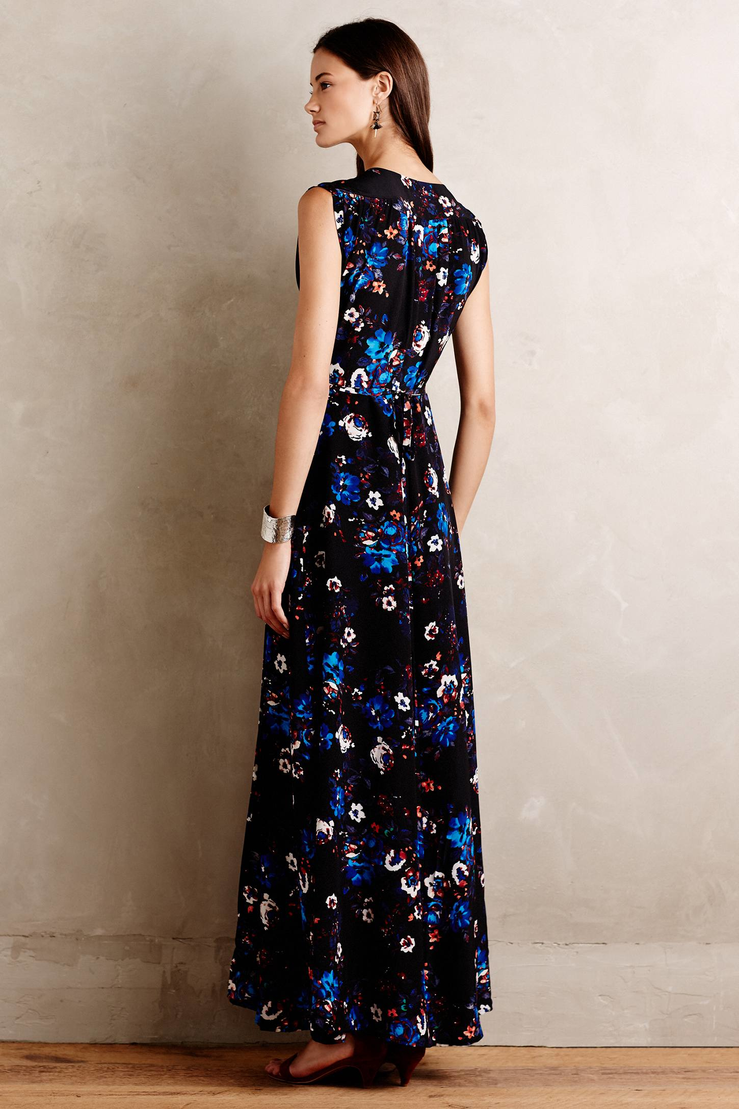 Yumi Kim Arcadia Silk Maxi Dress In Black Lyst