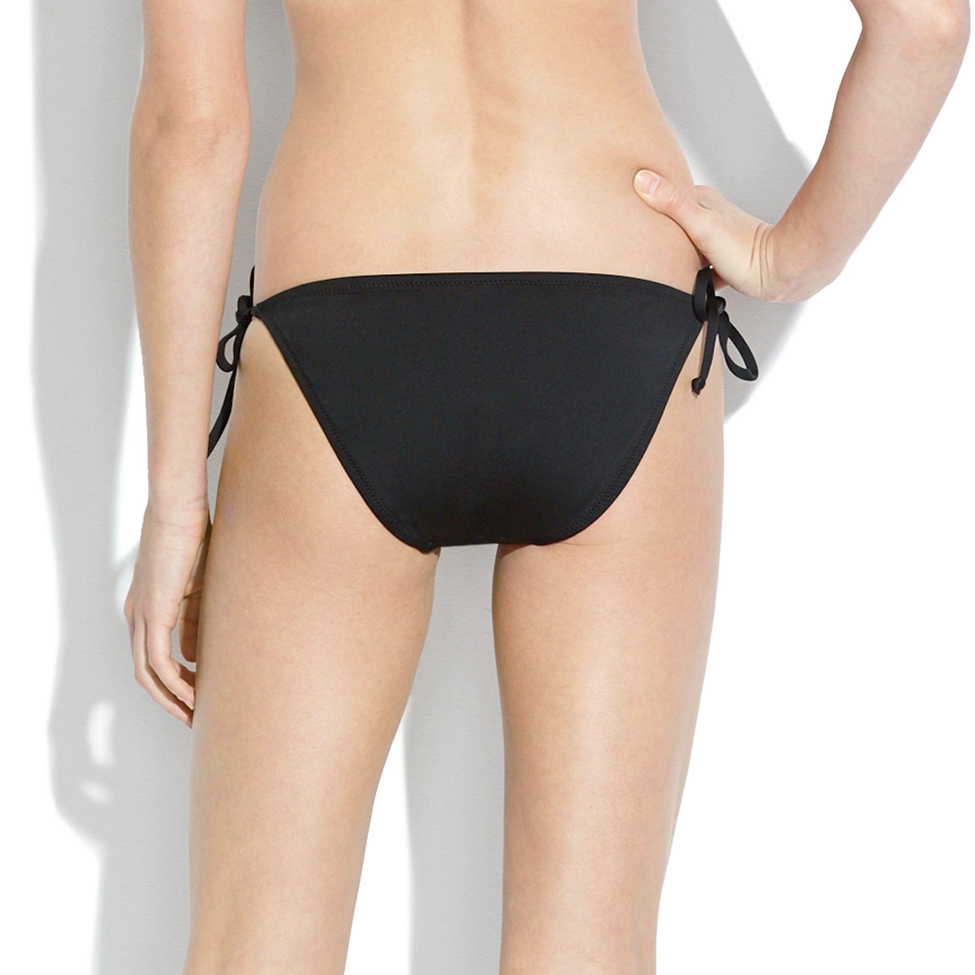 black string bikini bottoms - photo #22