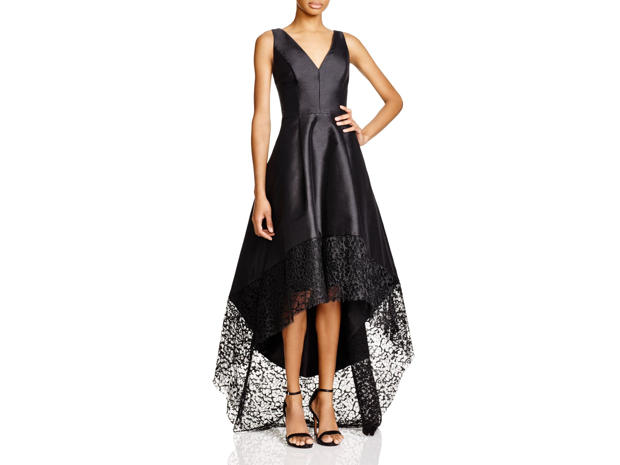 Lyst - Ml monique lhuillier Ml Monique Lhuiller Sleeveless High ...