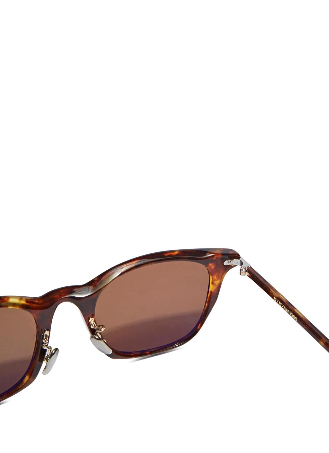 Silver and Purple Model 769 Sunglasses Eyevan 7285 uqpsT
