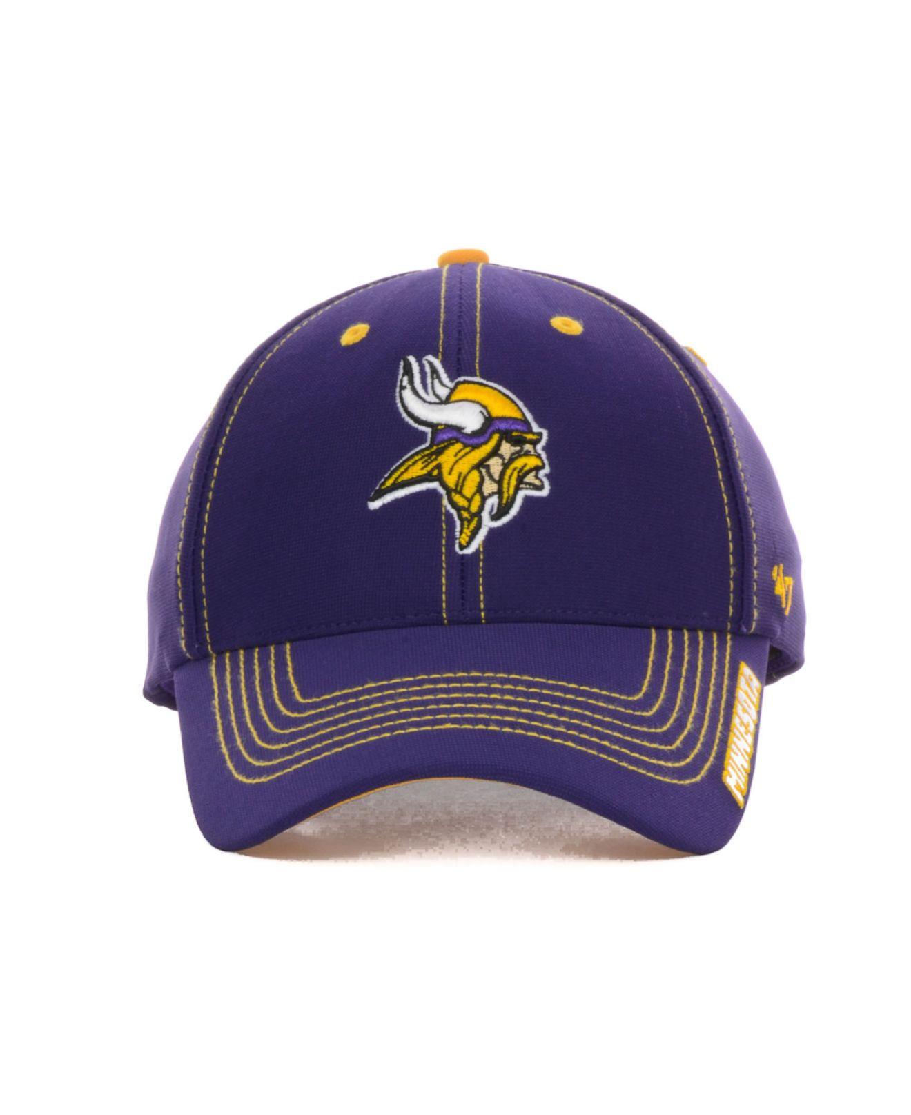 outlet store 541c3 72725 ... new era nfl kids on field 39thirty purple fe01c 28e40  spain lyst 47  brand kids minnesota vikings twig cap in purple 544d0 312cd