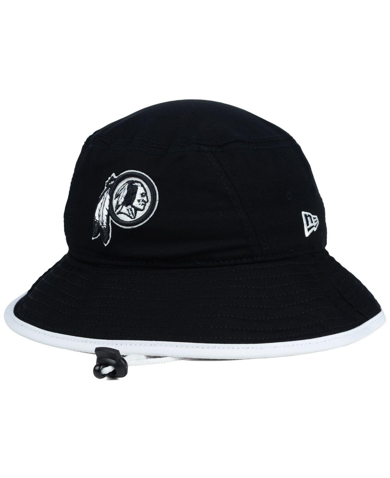 Lyst - KTZ Washington Redskins Nfl Black White Bucket Hat in Black ... a303333fa96