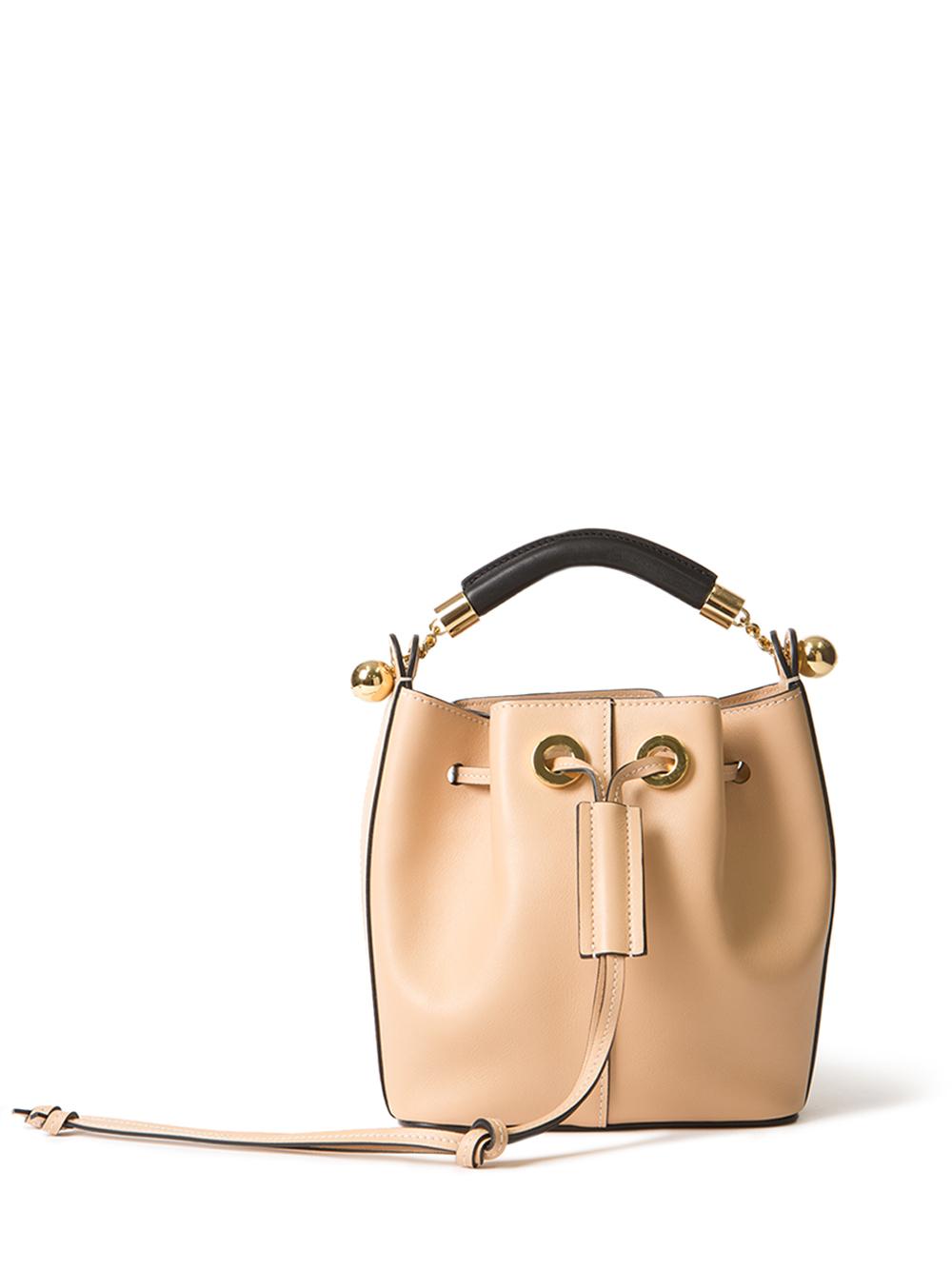 chloe handbags replica - small gala bucket bag in smooth calfskin