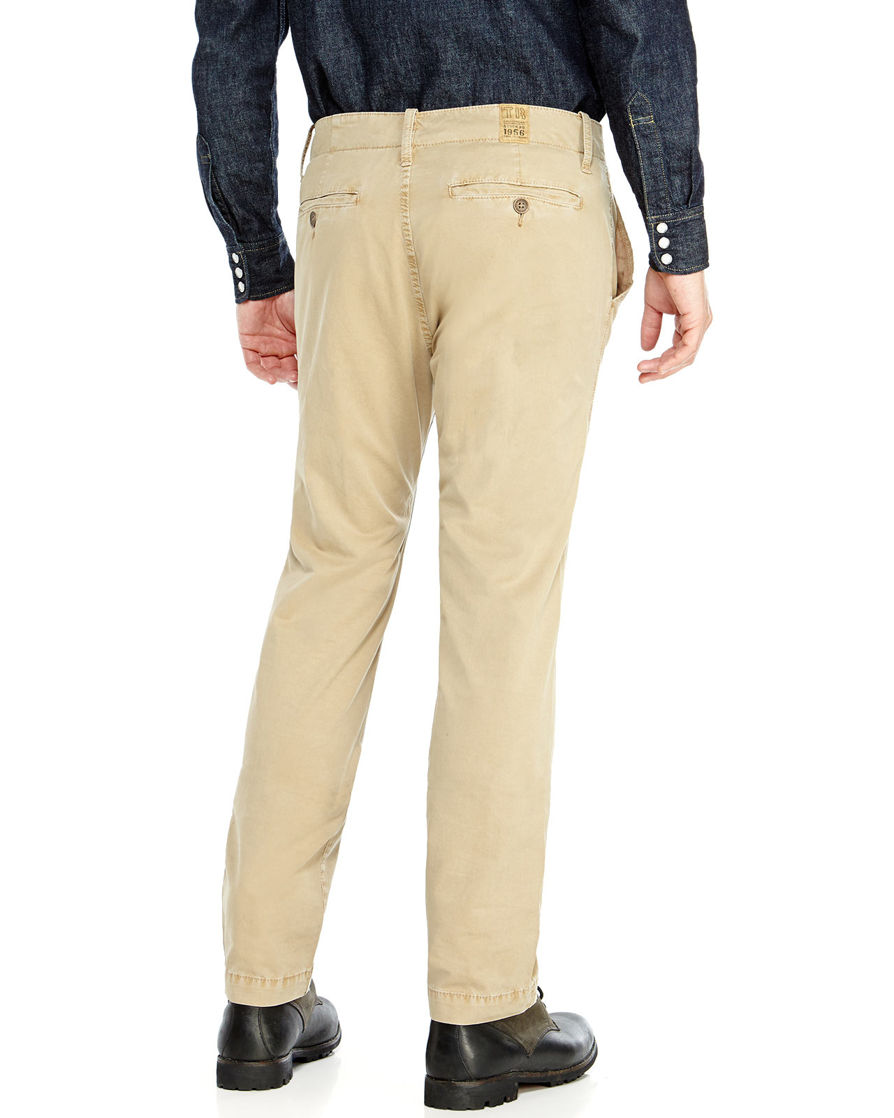 d724253a1 True Religion Utility Chino Pants in Natural for Men - Lyst