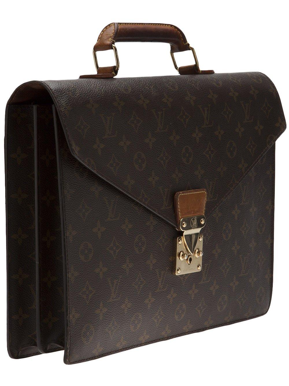 4a3aa0fd1 Louis Vuitton Monogram Serviette Briefcase in Brown - Lyst