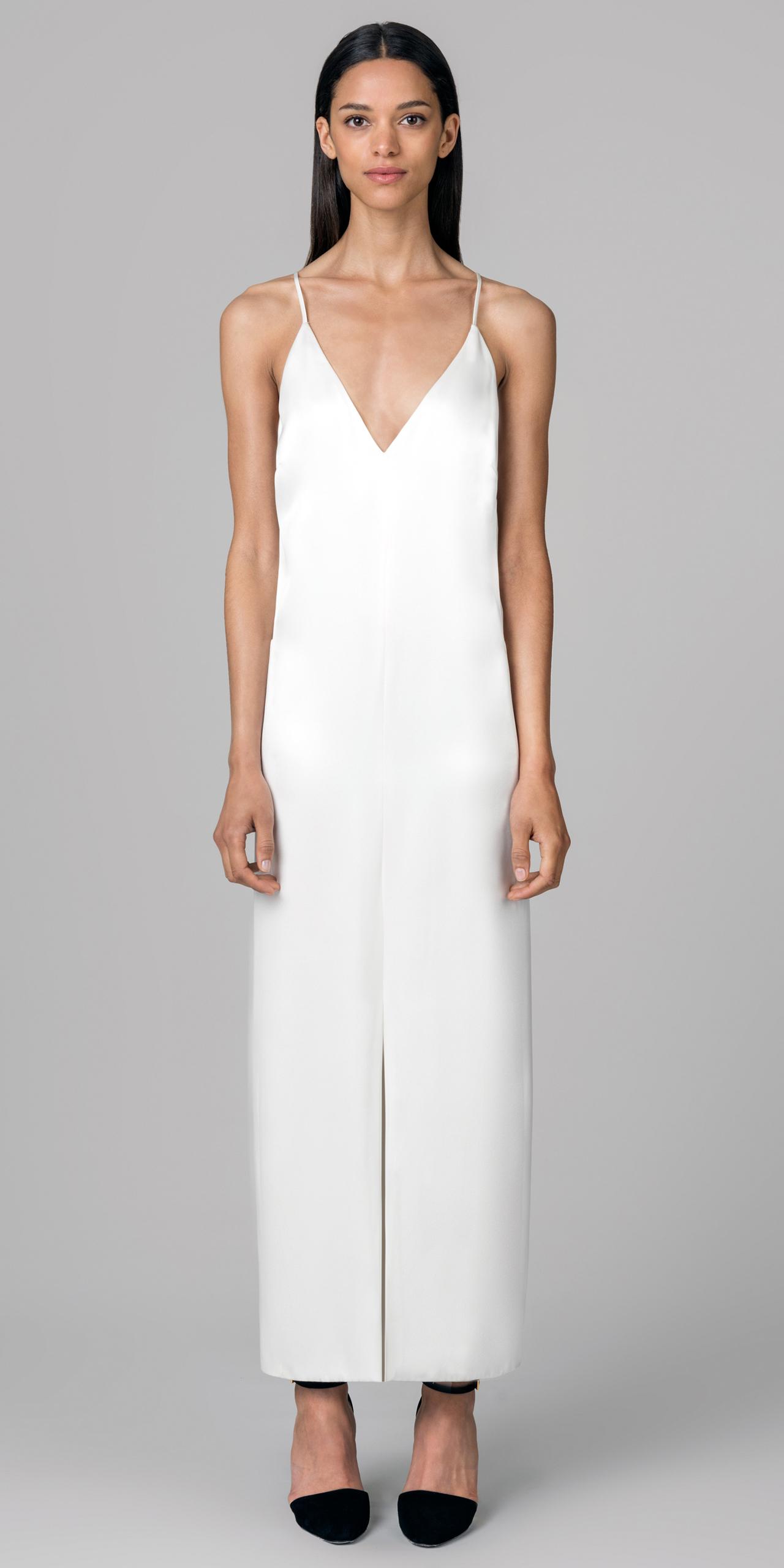 Kimora lee simmons Slip Dress in White | Lyst