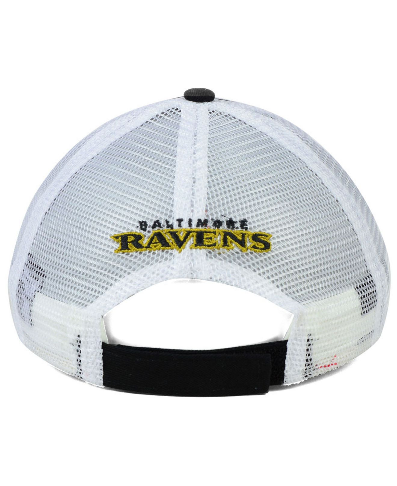 Womens Baltimore Ravens New Era Black Double Over 9forty