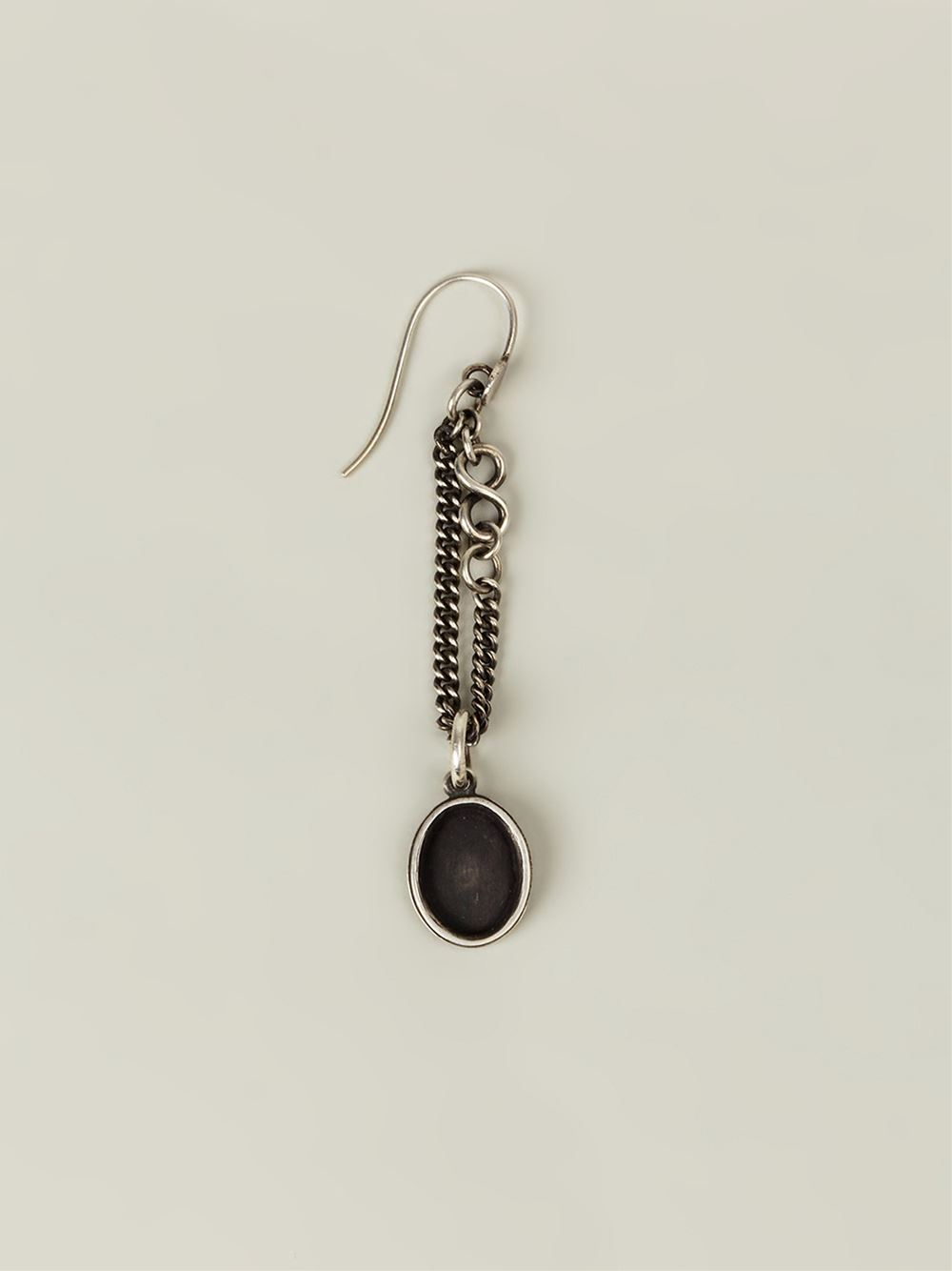 lyst werkstatt m nchen medallion earrings in metallic. Black Bedroom Furniture Sets. Home Design Ideas