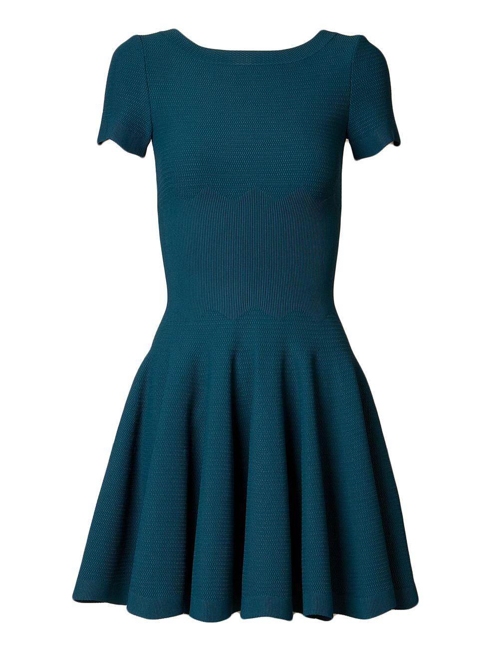Alaia Azzedine Dresses >> Alaïa Knit Dress in Blue | Lyst