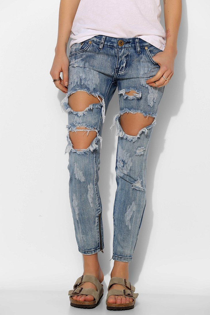Womens Freebirds Skinny Jeans One Teaspoon Sale Lowest Price Finishline Cheap Price 4dNls