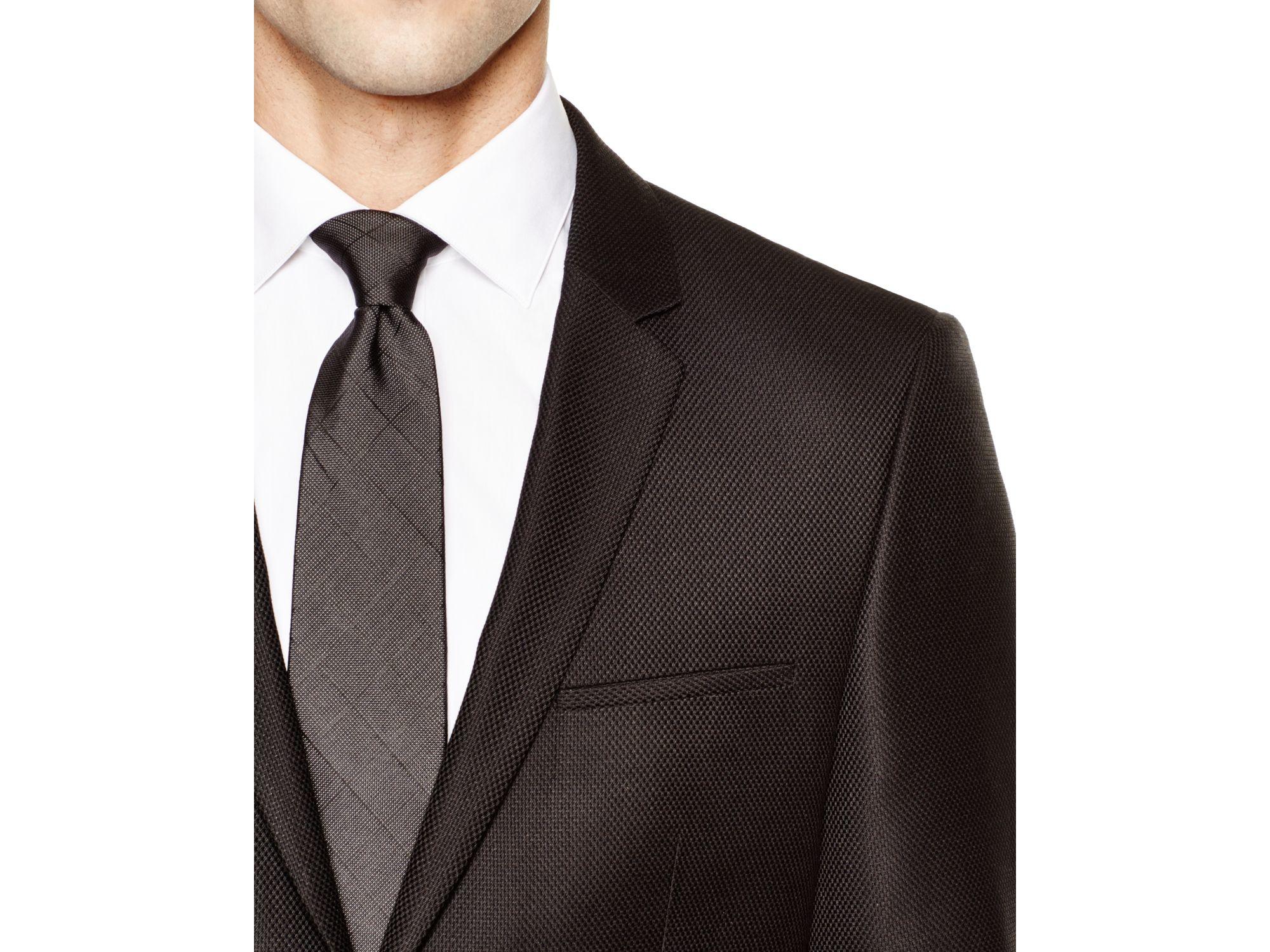 boss hugo tonal alesono slim fit sport coat in black for. Black Bedroom Furniture Sets. Home Design Ideas