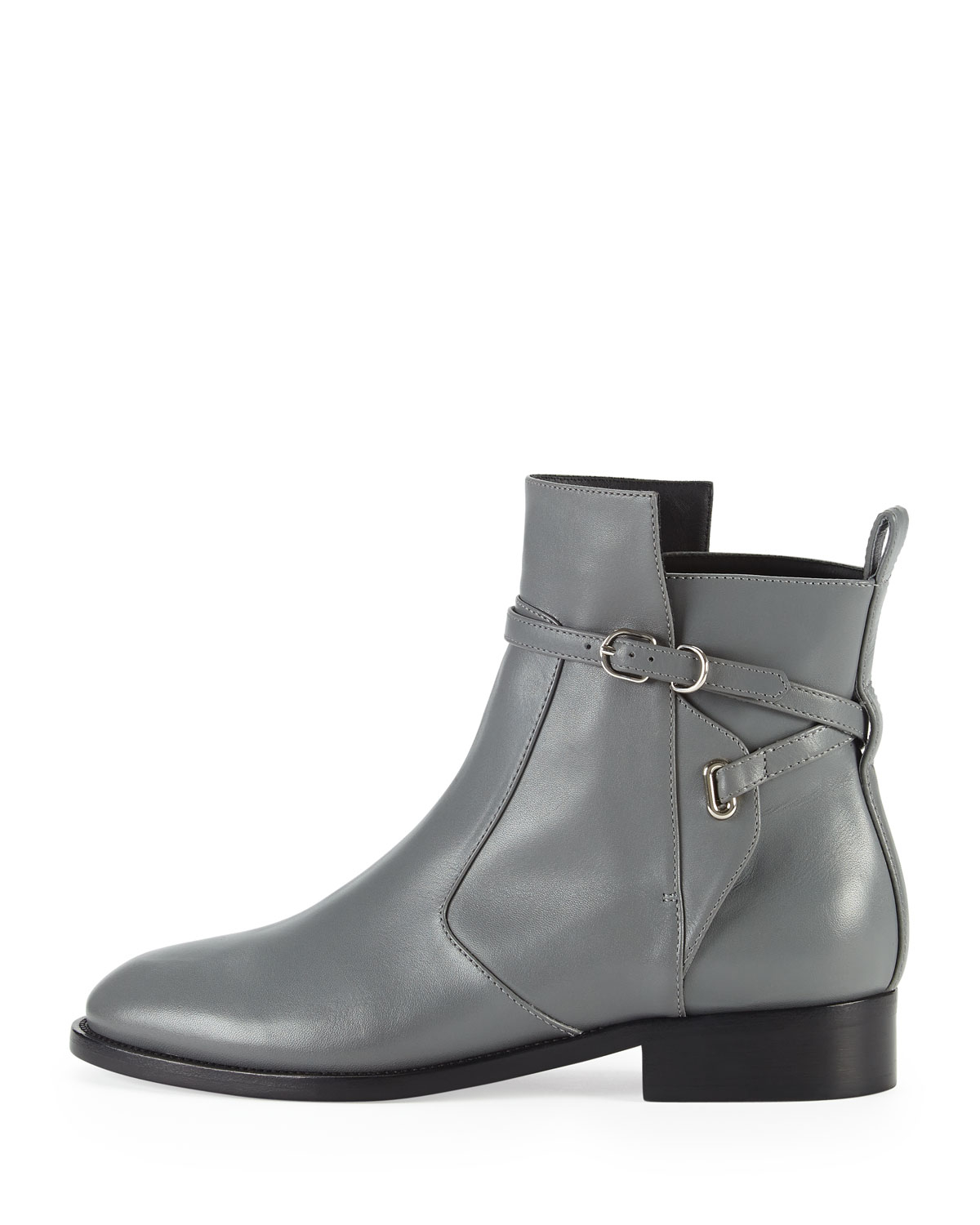 Gray Ankle Boots Flat : Gray.biji.us